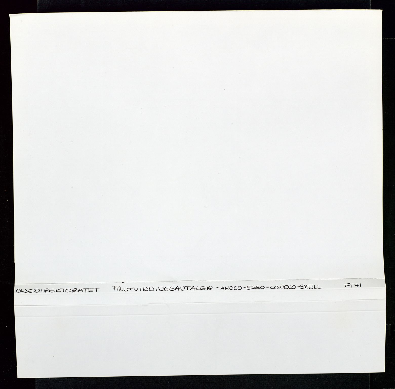 SAST, Industridepartementet, Oljekontoret, Da/L0004: Arkivnøkkel 711 - 712 Utvinningstillatelser, 1970-1971, s. 2