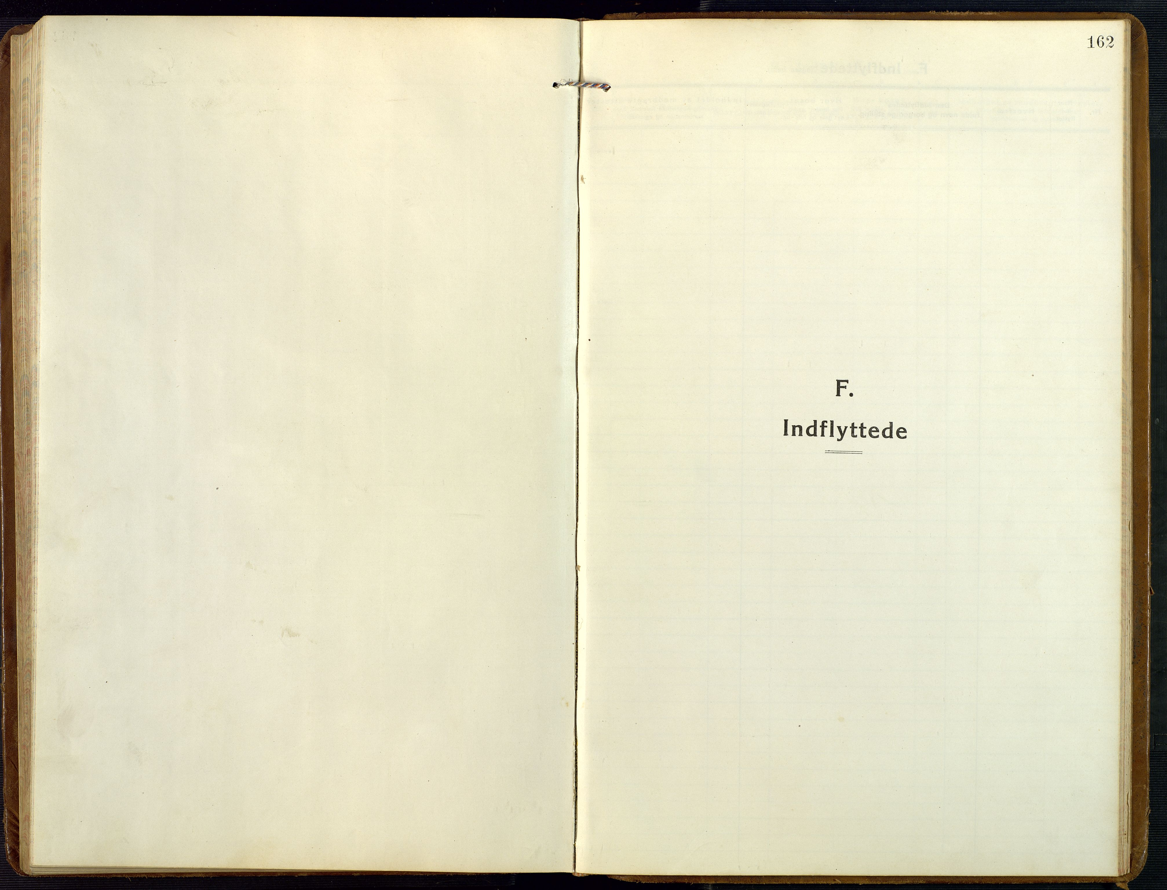 SAK, Åmli sokneprestkontor, F/Fb/Fba/L0003: Klokkerbok nr. B 3, 1912-1974, s. 162