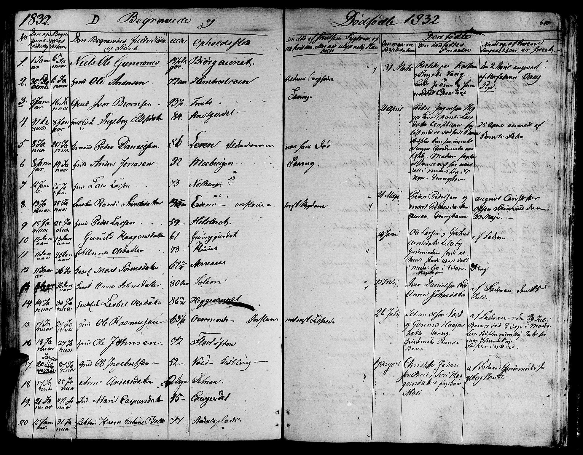 SAT, Ministerialprotokoller, klokkerbøker og fødselsregistre - Nord-Trøndelag, 709/L0070: Ministerialbok nr. 709A10, 1820-1832, s. 640