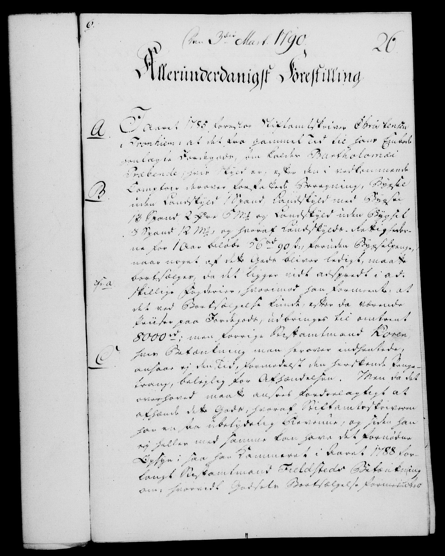 RA, Rentekammeret, Kammerkanselliet, G/Gf/Gfa/L0072: Norsk relasjons- og resolusjonsprotokoll (merket RK 52.72), 1790, s. 140