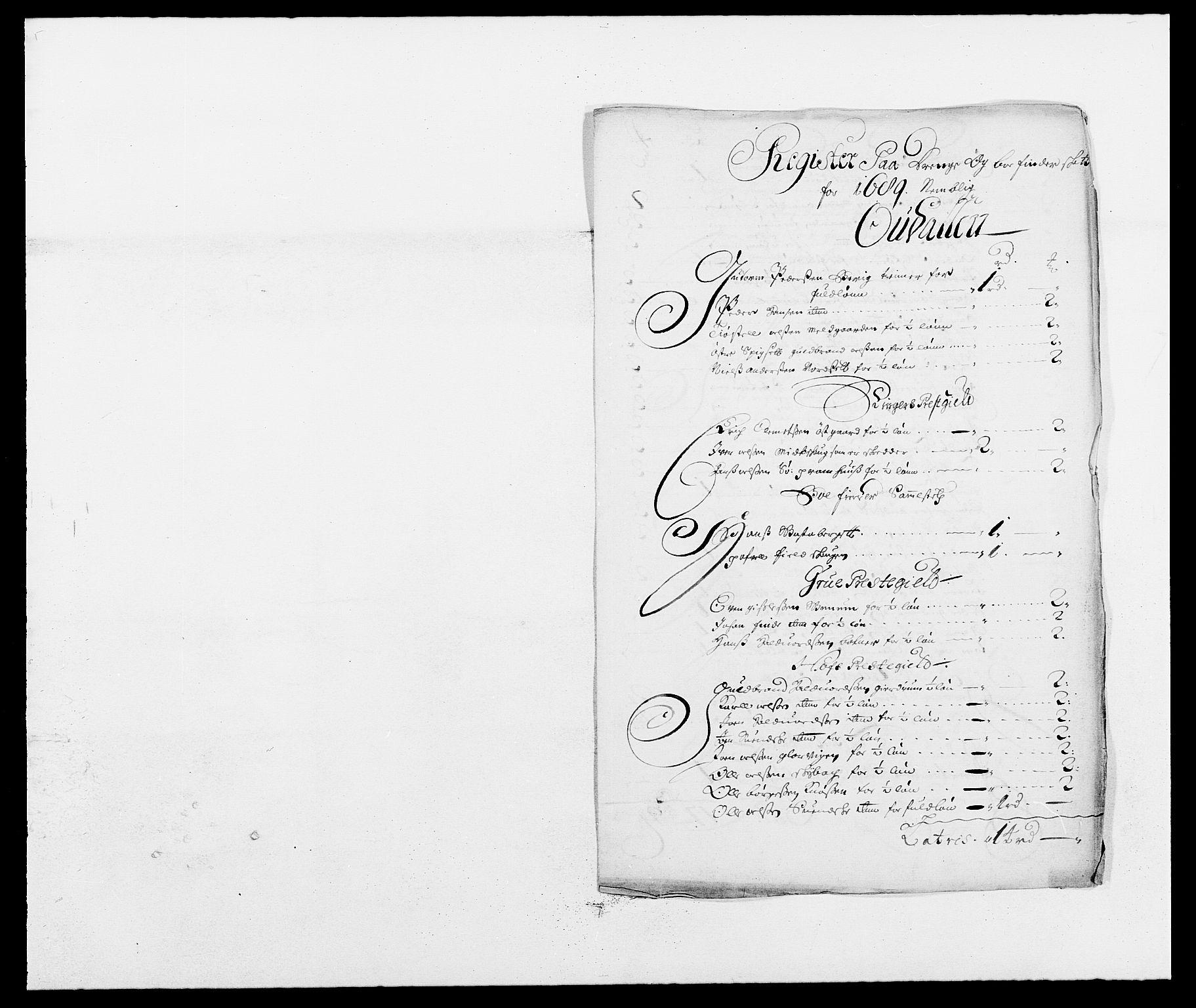 RA, Rentekammeret inntil 1814, Reviderte regnskaper, Fogderegnskap, R13/L0827: Fogderegnskap Solør, Odal og Østerdal, 1689, s. 239