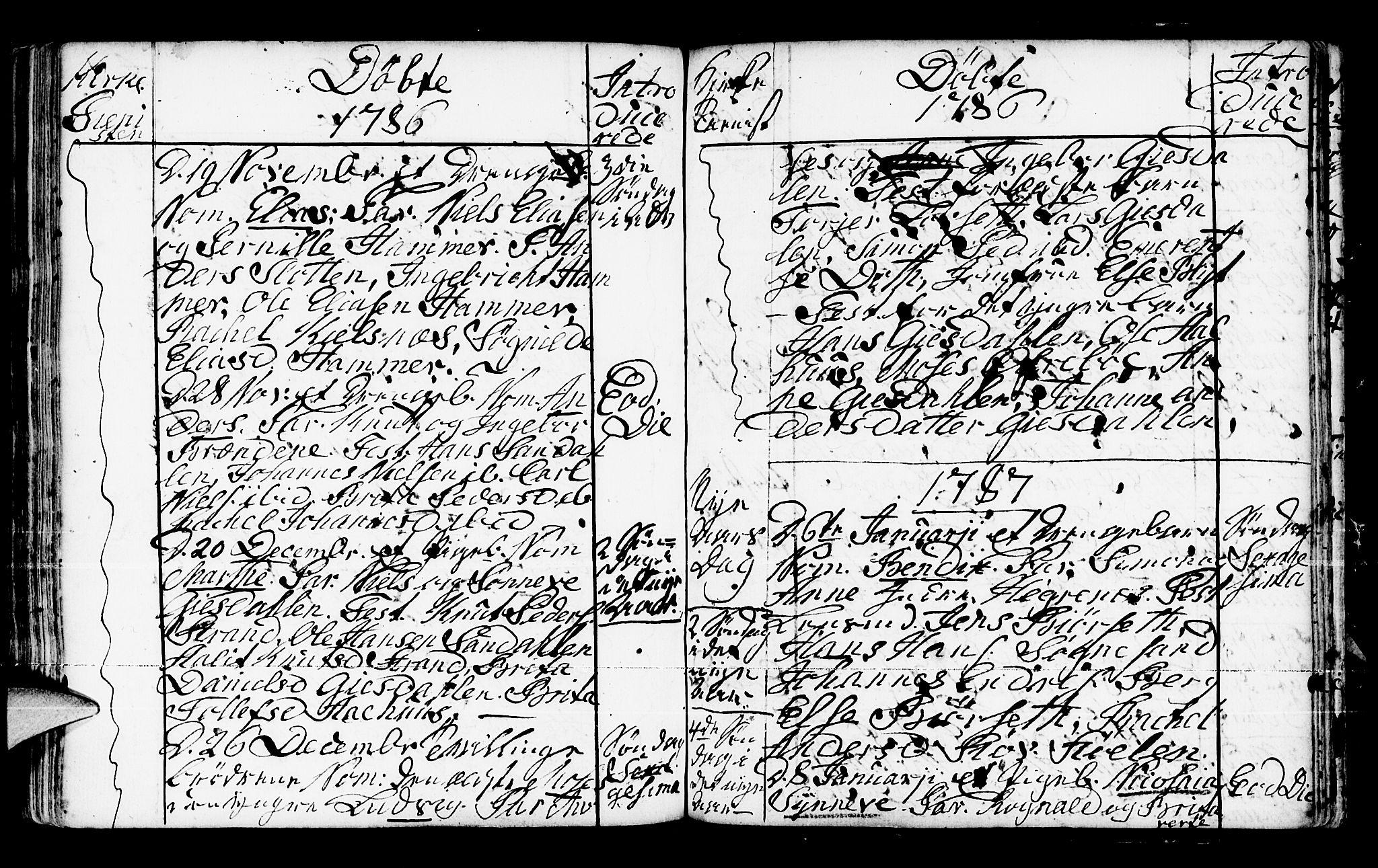 SAB, Jølster Sokneprestembete, Ministerialbok nr. A 3, 1748-1789, s. 206