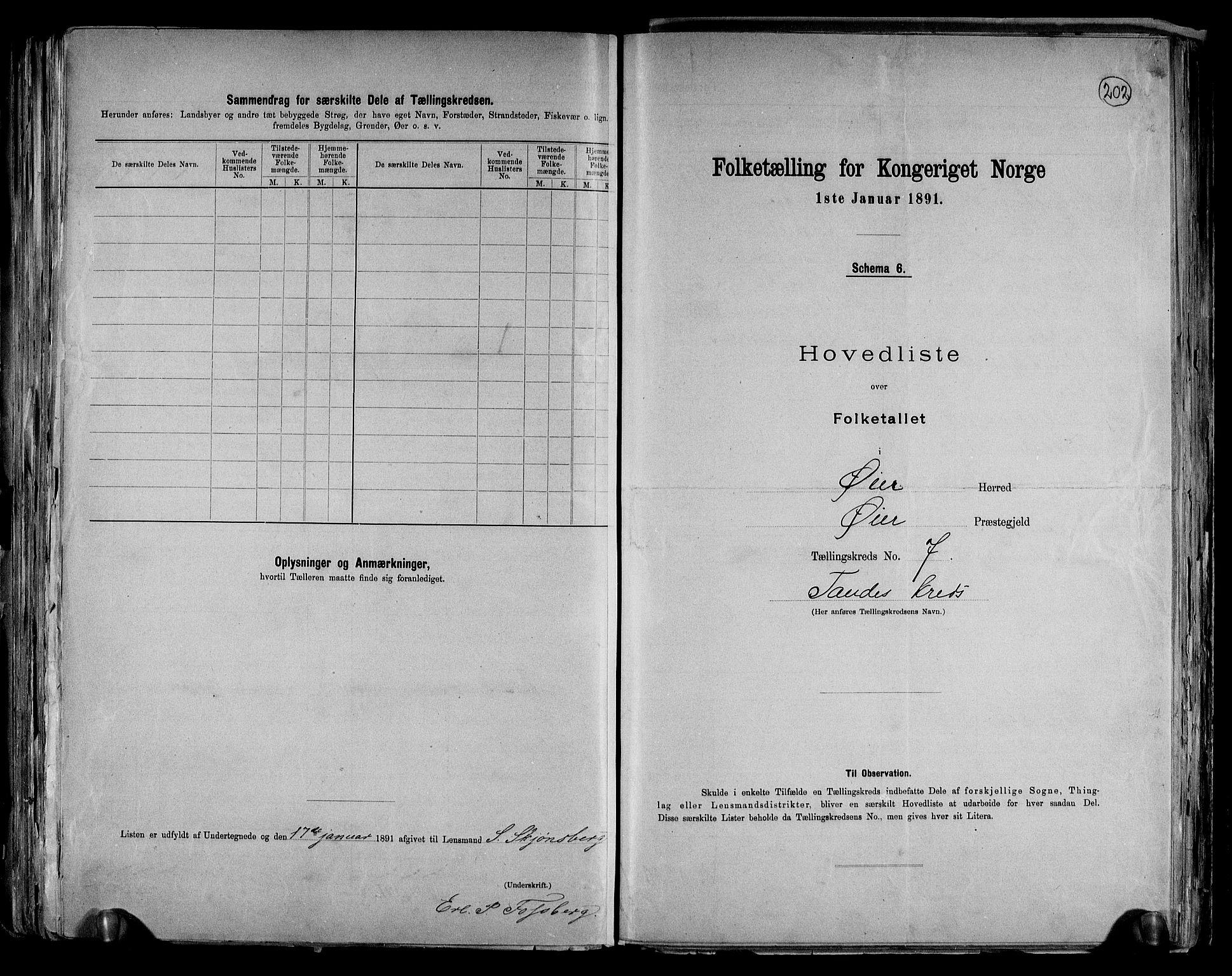 RA, Folketelling 1891 for 0521 Øyer herred, 1891, s. 16