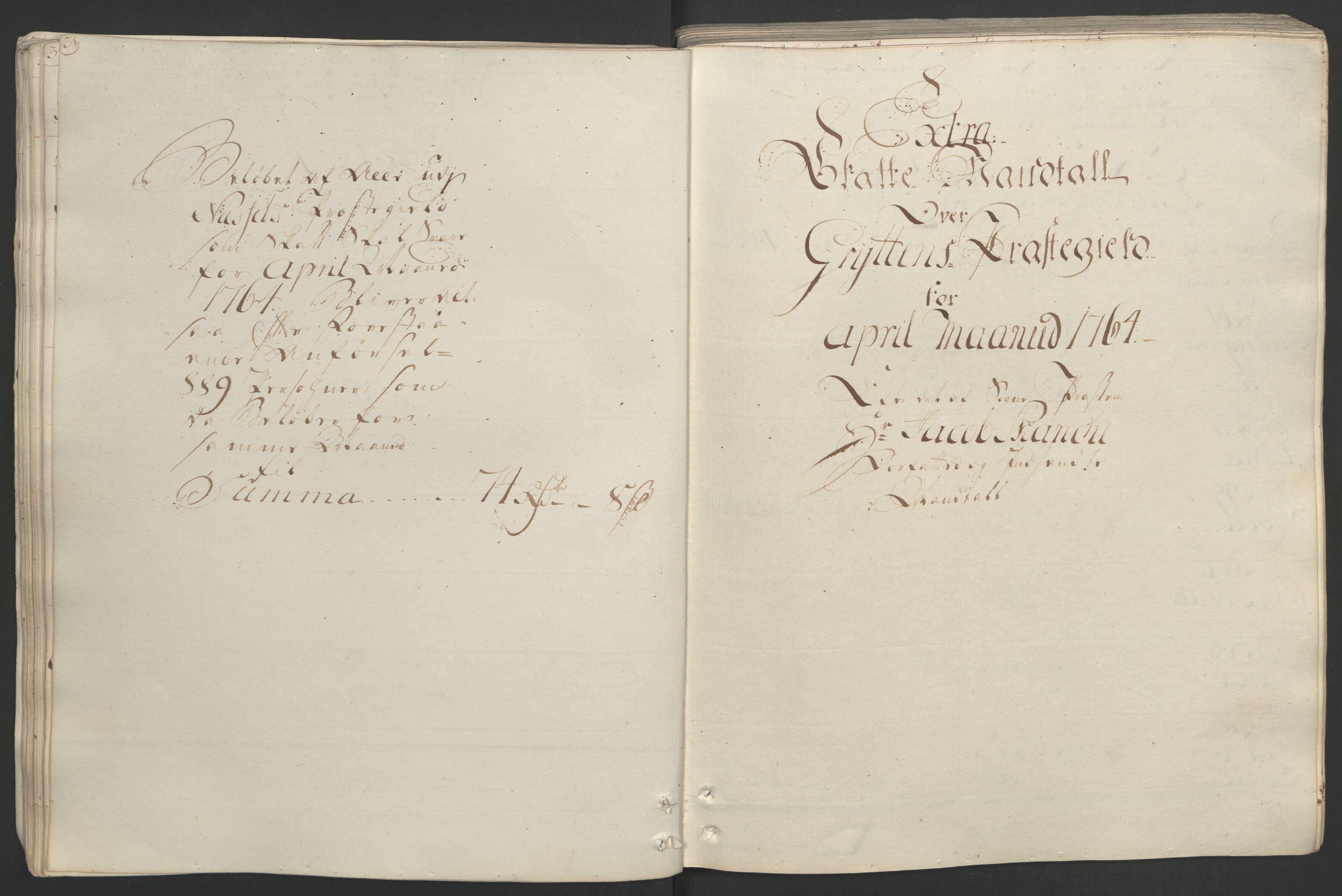 RA, Rentekammeret inntil 1814, Realistisk ordnet avdeling, Ol/L0020: [Gg 10]: Ekstraskatten, 23.09.1762. Romsdal, Strinda, Selbu, Inderøy., 1764, s. 43