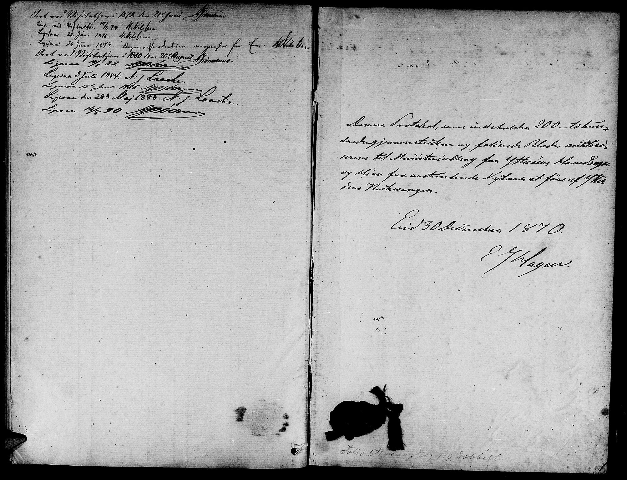 SAT, Ministerialprotokoller, klokkerbøker og fødselsregistre - Nord-Trøndelag, 722/L0225: Klokkerbok nr. 722C01, 1871-1888