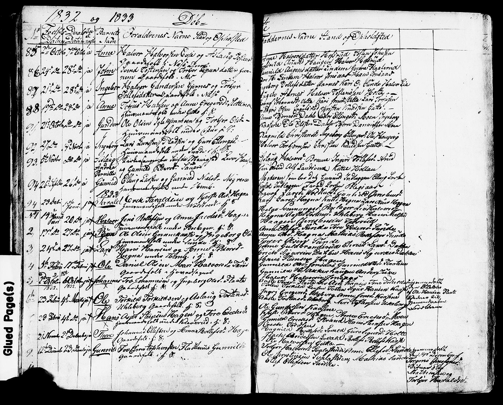 SAKO, Sauherad kirkebøker, F/Fa/L0006: Ministerialbok nr. I 6, 1827-1850, s. 38