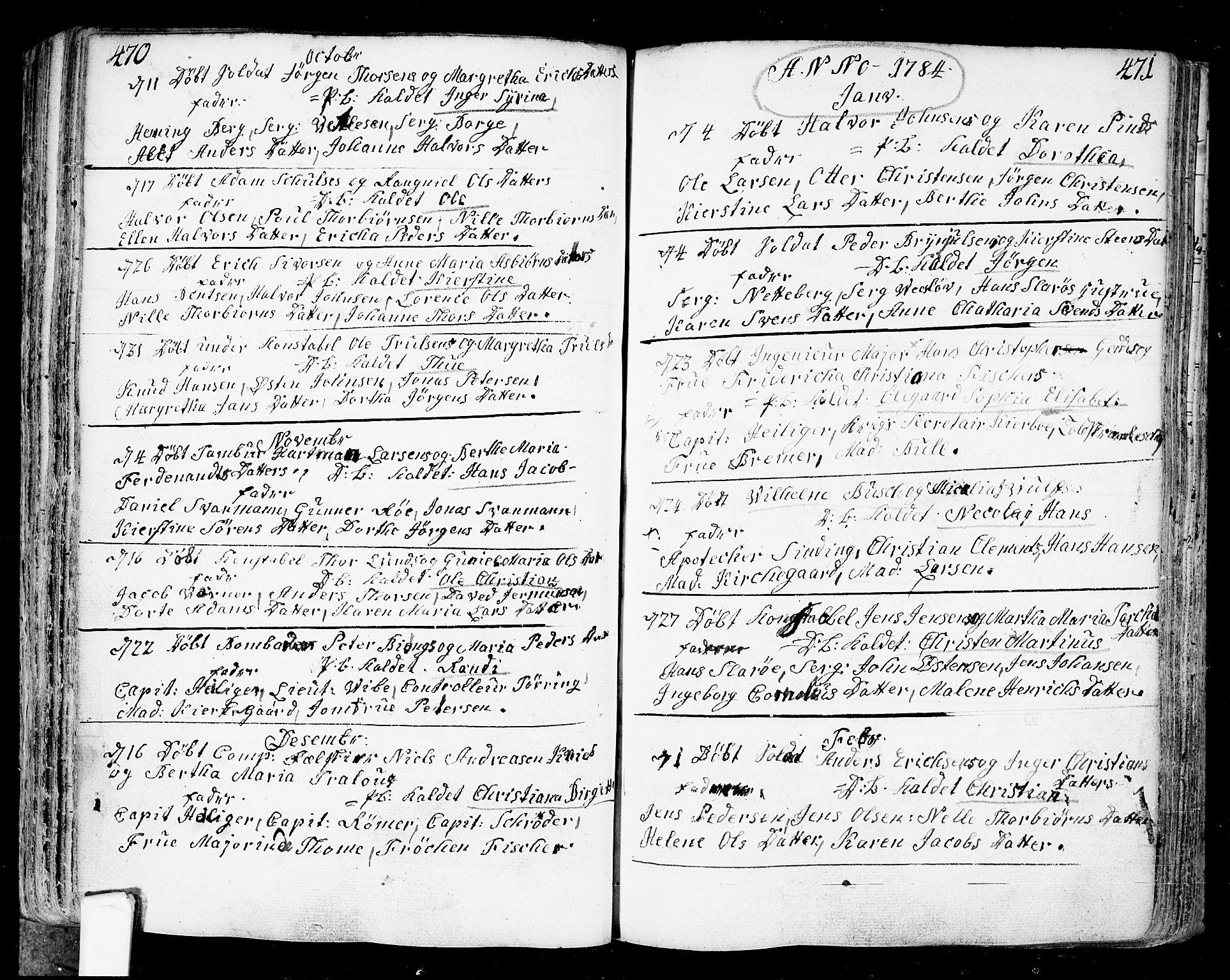 SAO, Fredrikstad prestekontor Kirkebøker, F/Fa/L0002: Ministerialbok nr. 2, 1750-1804, s. 470-471