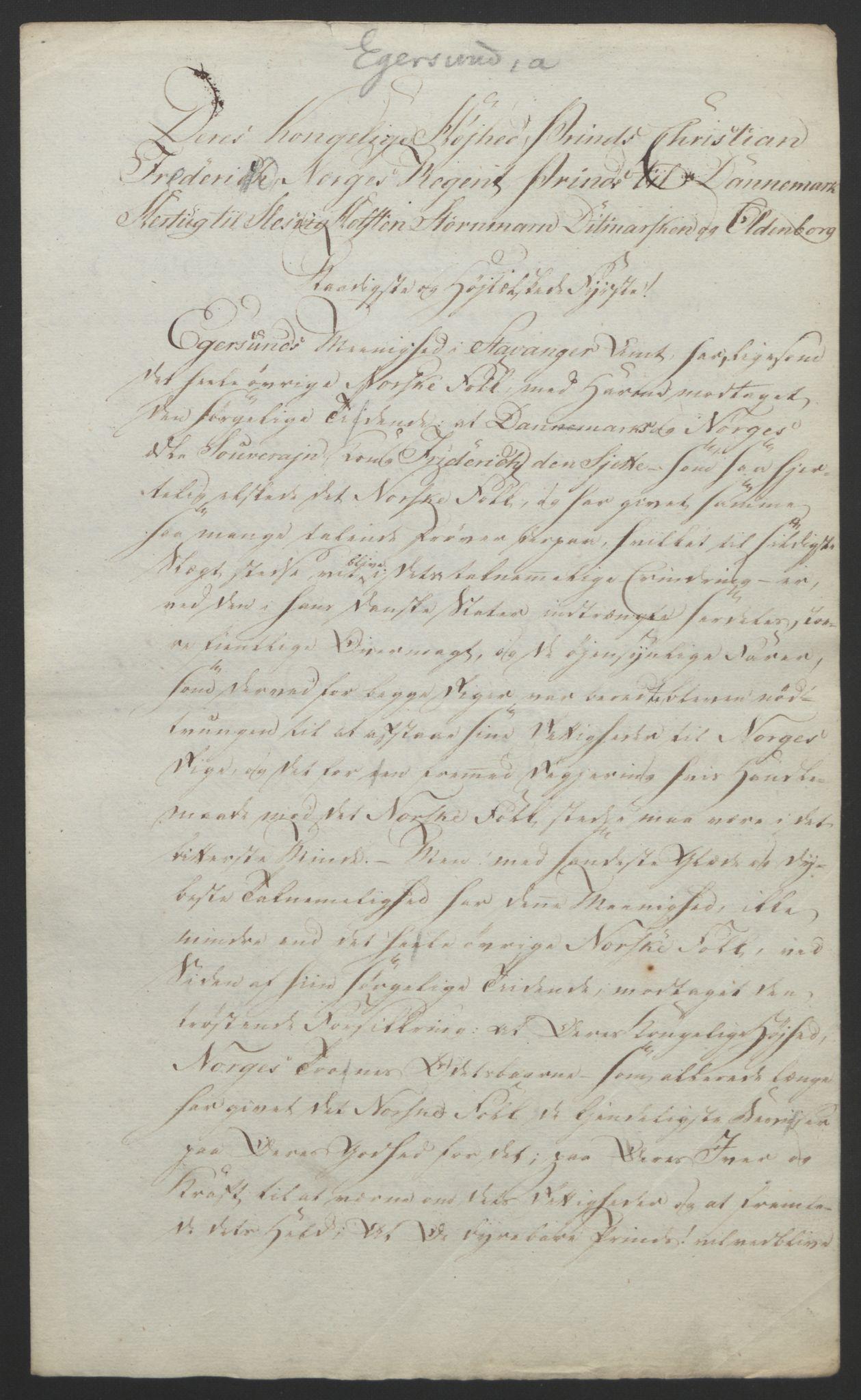 RA, Statsrådssekretariatet, D/Db/L0008: Fullmakter for Eidsvollsrepresentantene i 1814. , 1814, s. 210