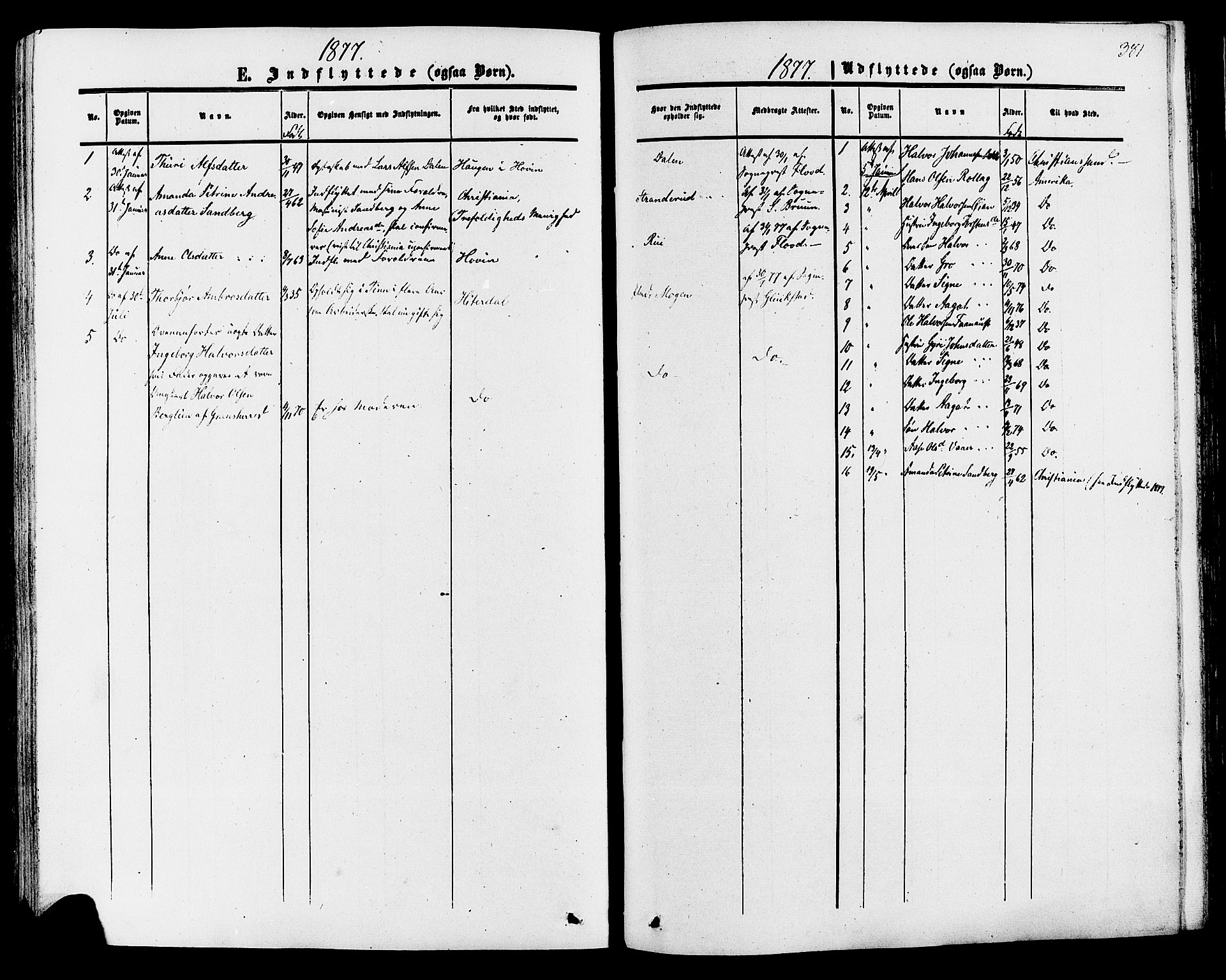SAKO, Tinn kirkebøker, F/Fa/L0006: Ministerialbok nr. I 6, 1857-1878, s. 381