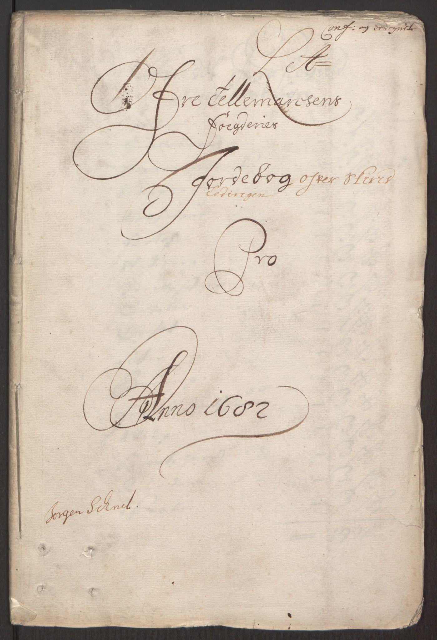 RA, Rentekammeret inntil 1814, Reviderte regnskaper, Fogderegnskap, R35/L2078: Fogderegnskap Øvre og Nedre Telemark, 1680-1684, s. 3