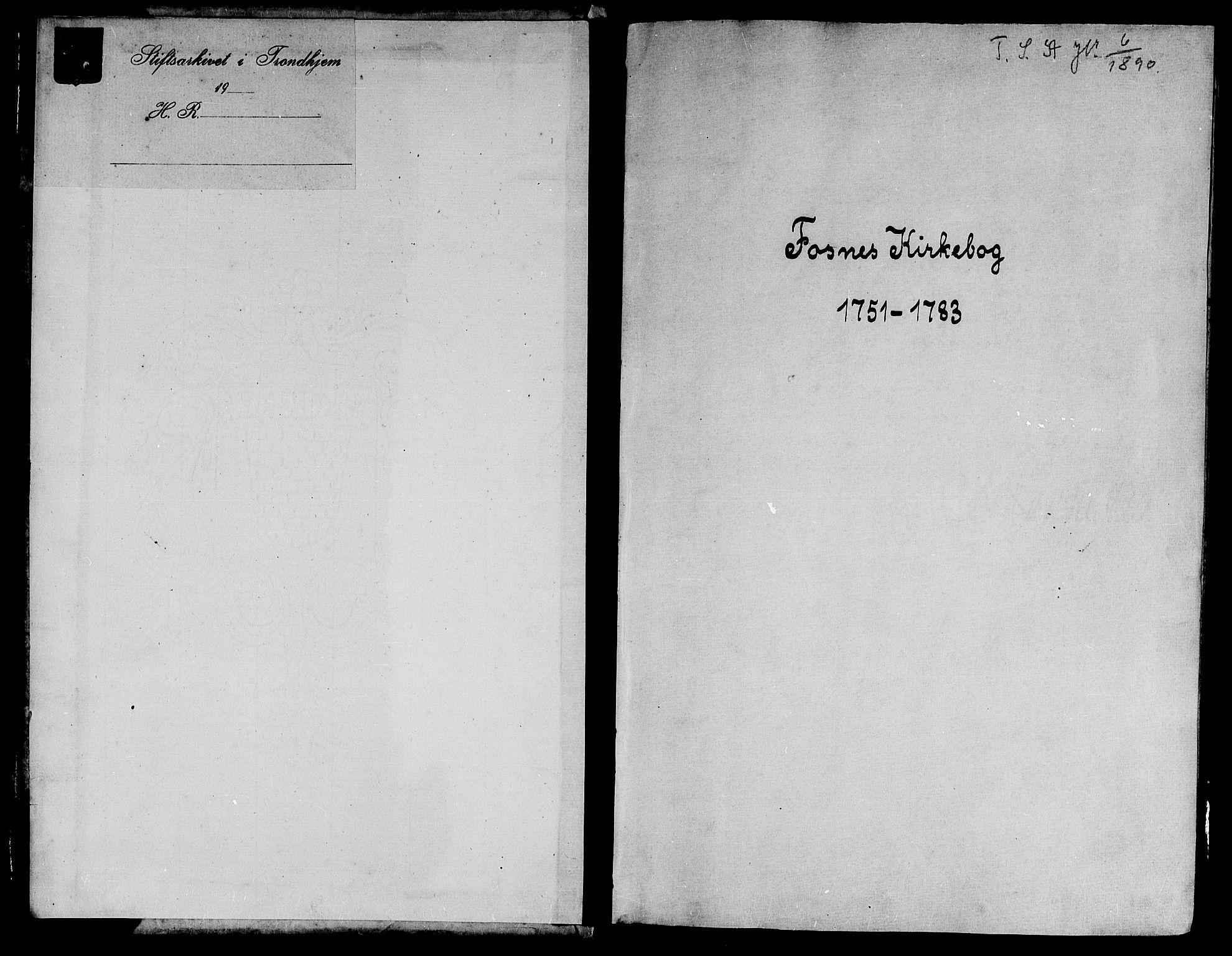 SAT, Ministerialprotokoller, klokkerbøker og fødselsregistre - Nord-Trøndelag, 773/L0607: Ministerialbok nr. 773A01, 1751-1783