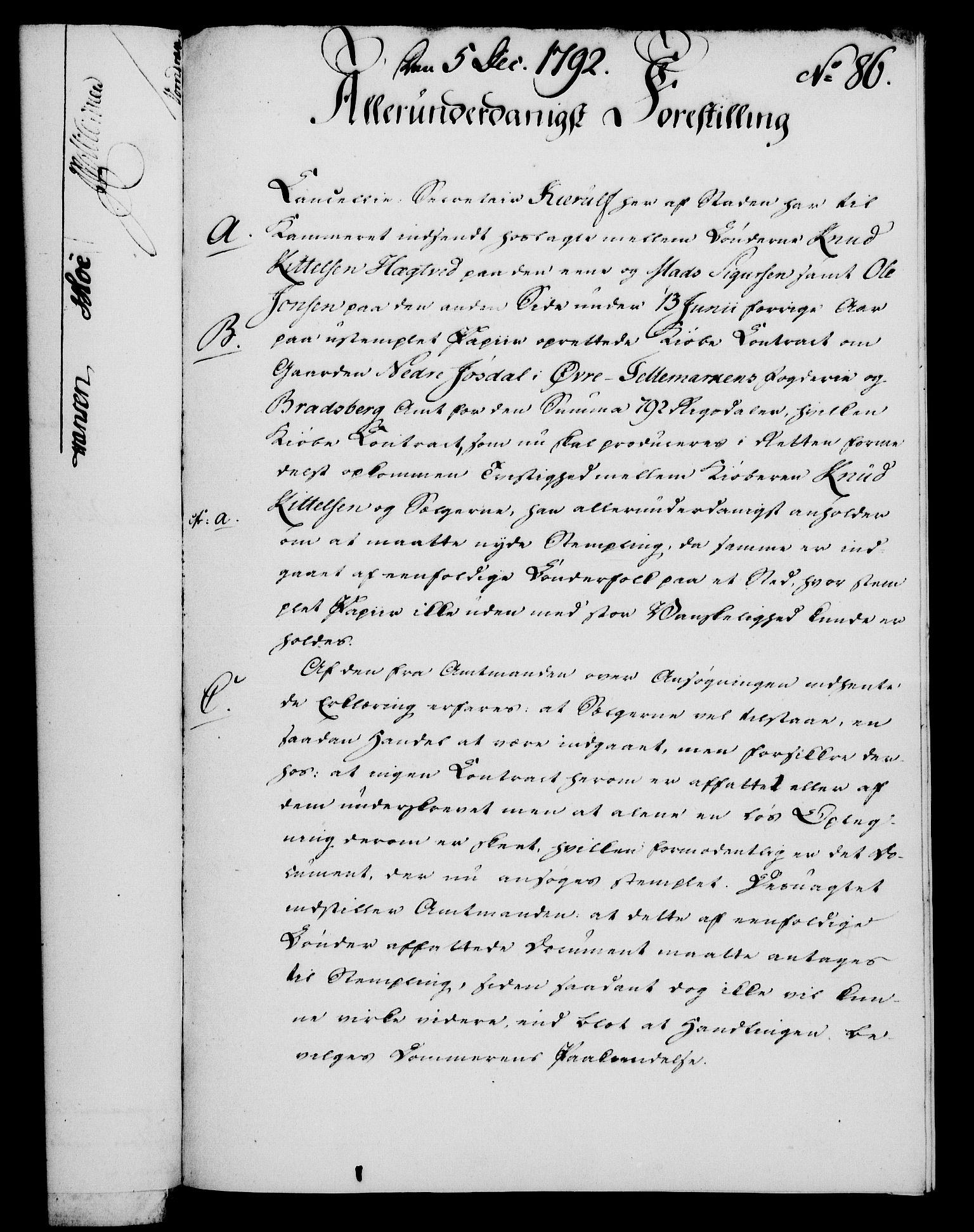 RA, Rentekammeret, Kammerkanselliet, G/Gf/Gfa/L0074: Norsk relasjons- og resolusjonsprotokoll (merket RK 52.74), 1792, s. 508