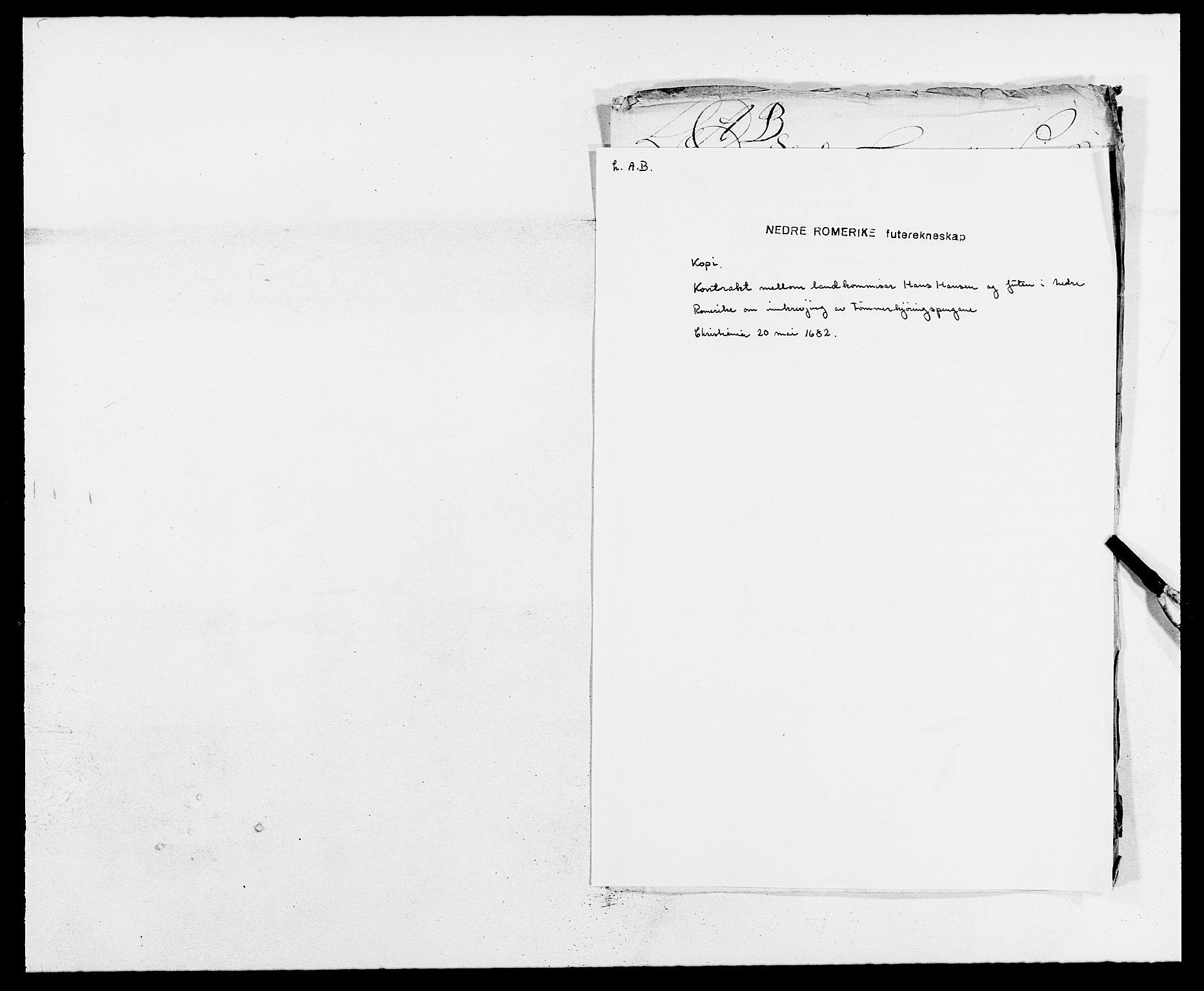 RA, Rentekammeret inntil 1814, Reviderte regnskaper, Fogderegnskap, R11/L0570: Fogderegnskap Nedre Romerike, 1682, s. 288