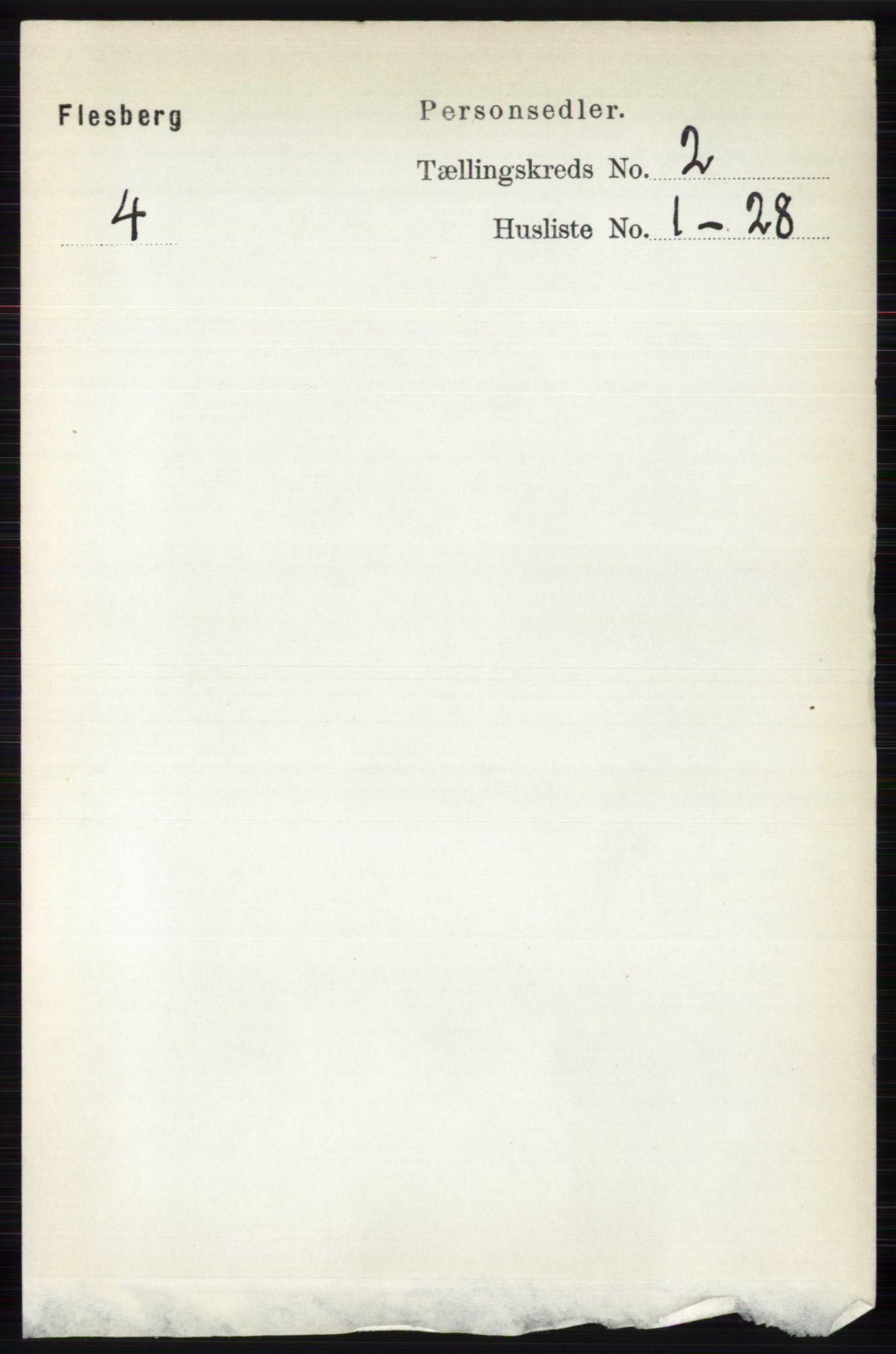 RA, Folketelling 1891 for 0631 Flesberg herred, 1891, s. 245