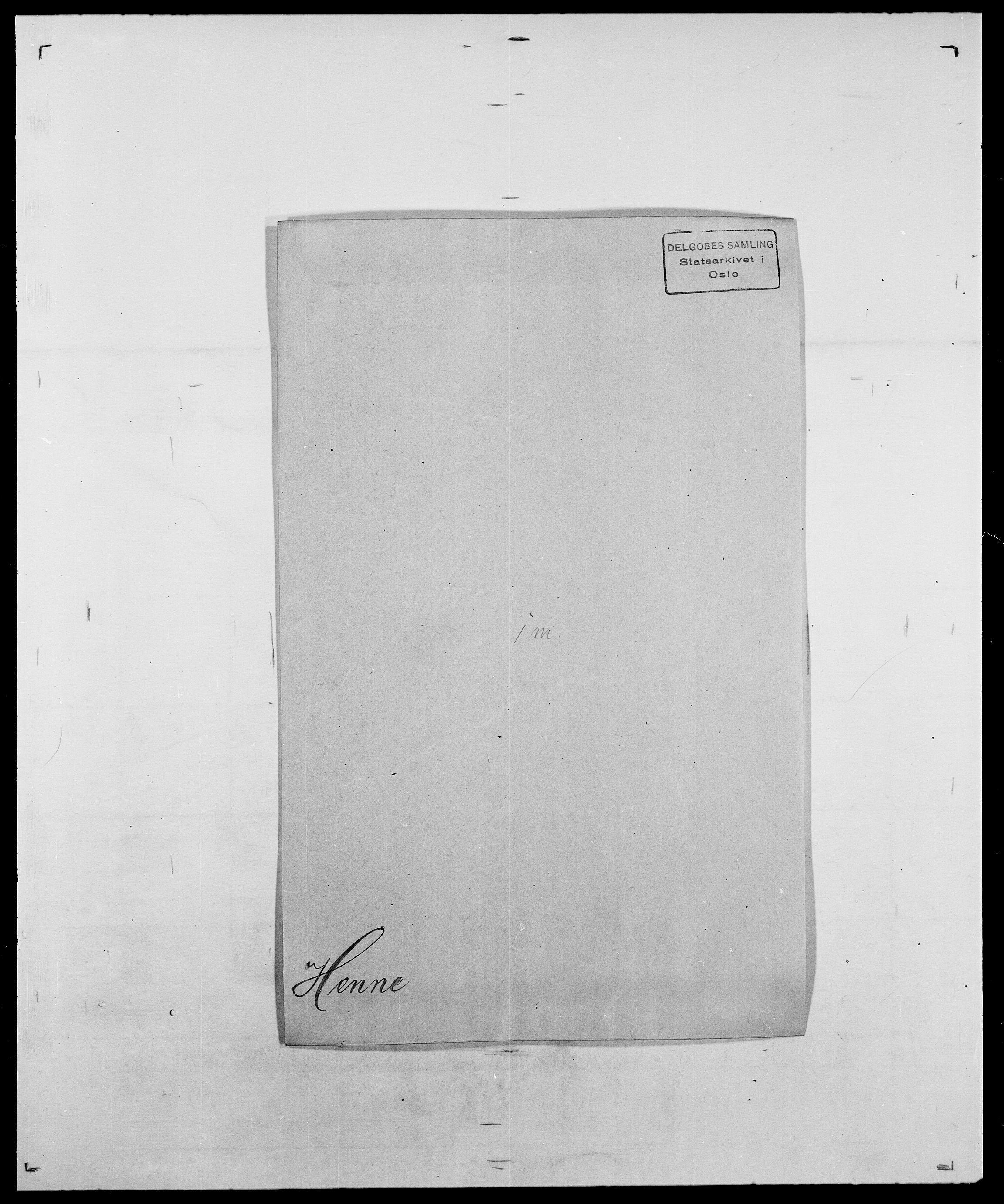 SAO, Delgobe, Charles Antoine - samling, D/Da/L0017: Helander - Hjørne, s. 179