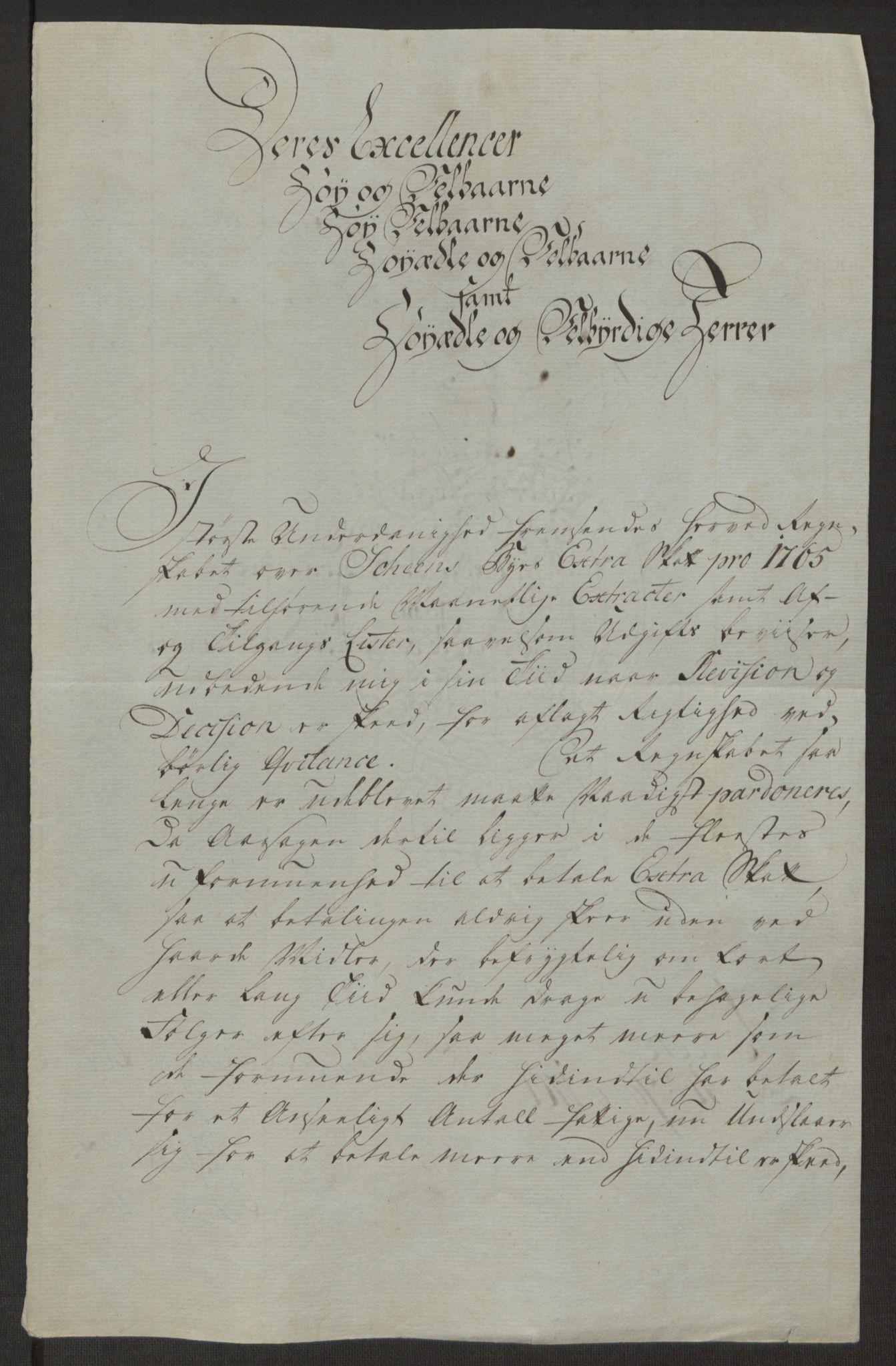 RA, Rentekammeret inntil 1814, Reviderte regnskaper, Byregnskaper, R/Rj/L0198: [J4] Kontribusjonsregnskap, 1762-1768, s. 324