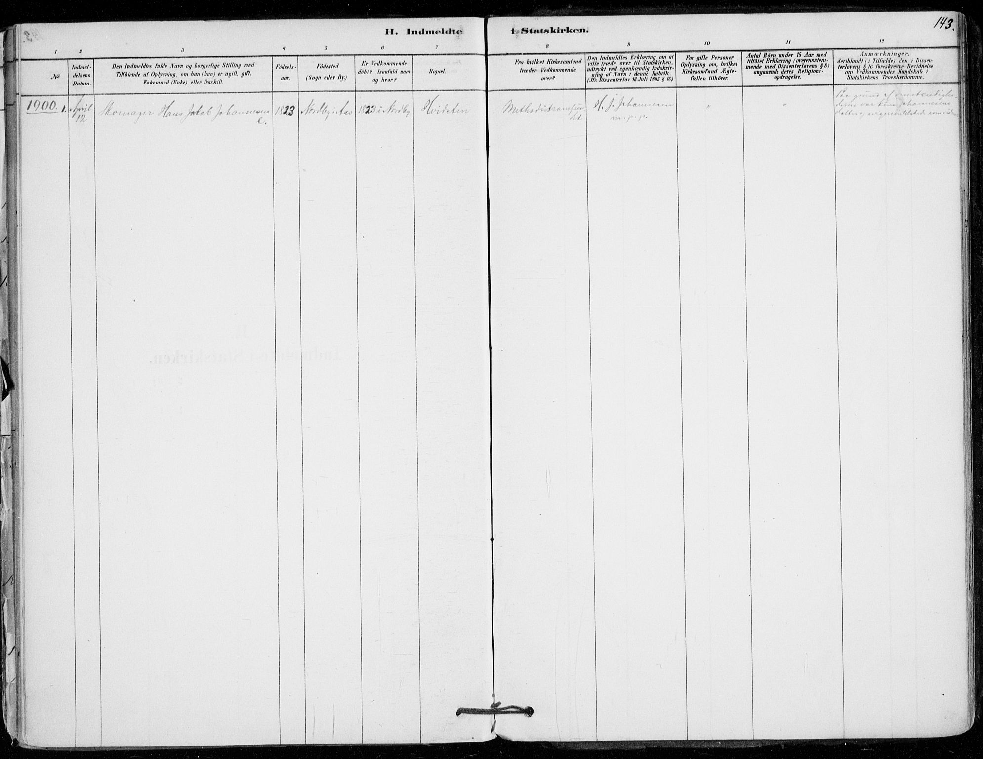 SAO, Vestby prestekontor Kirkebøker, F/Fd/L0001: Ministerialbok nr. IV 1, 1878-1945, s. 143