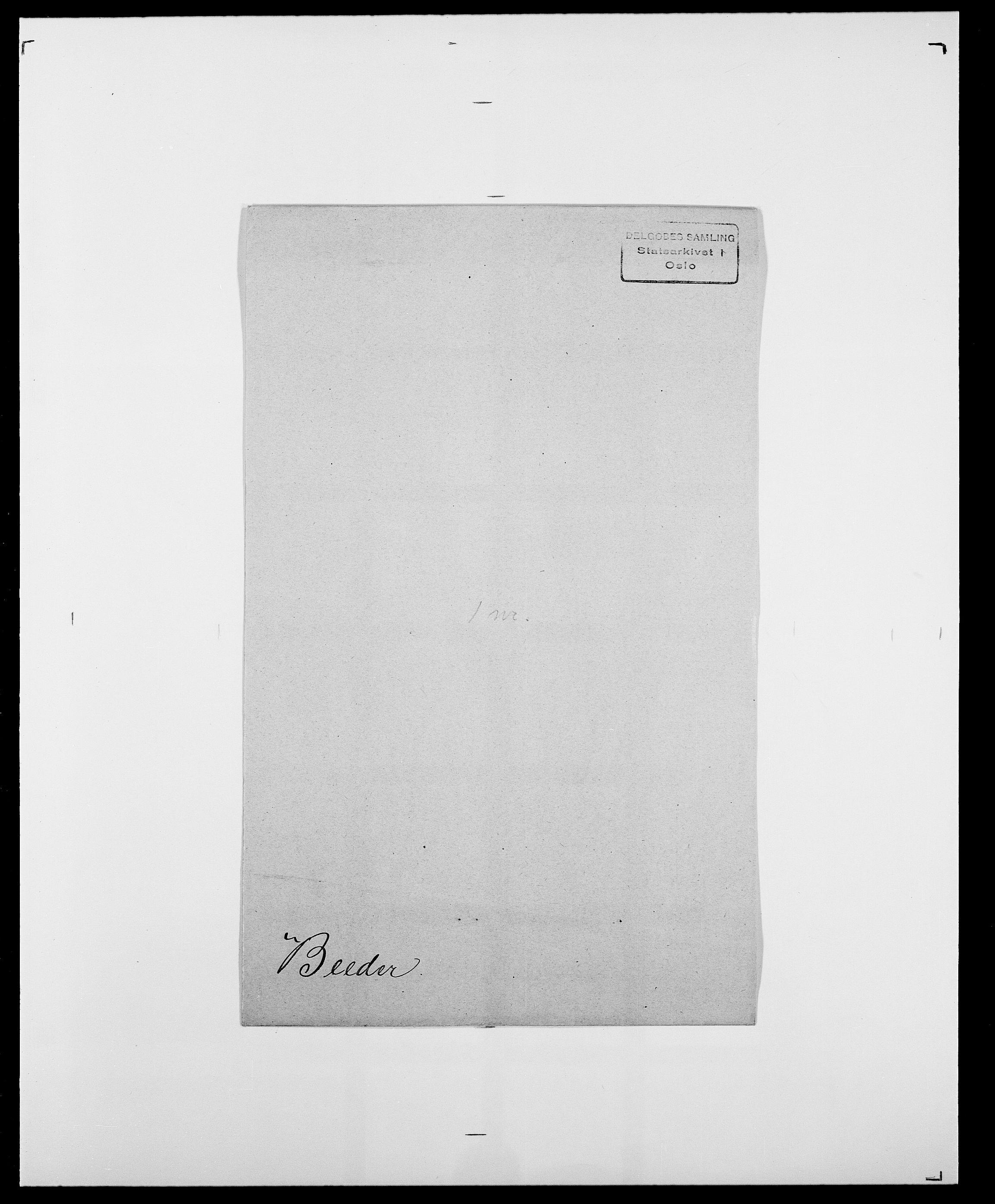 SAO, Delgobe, Charles Antoine - samling, D/Da/L0003: Barca - Bergen, s. 615
