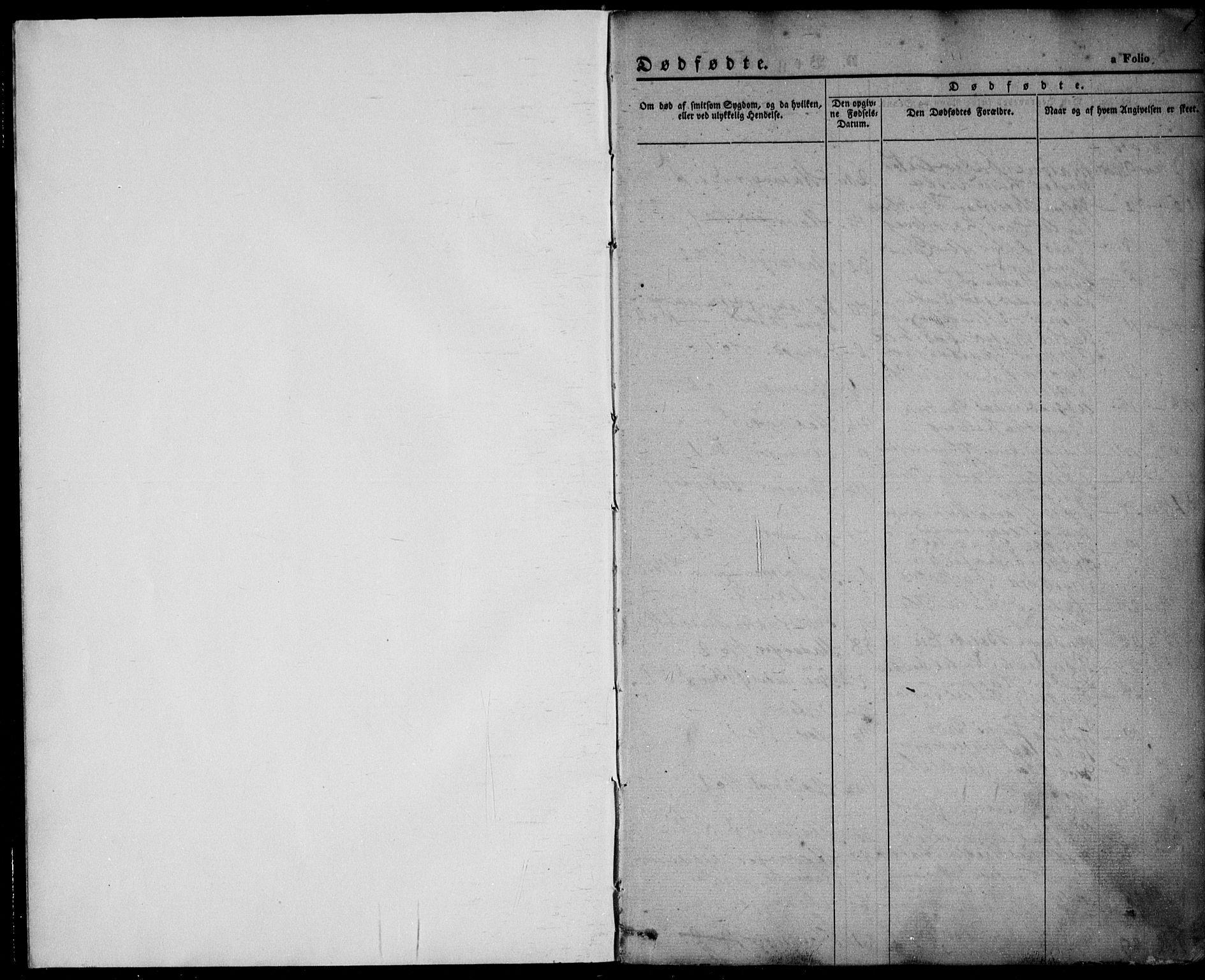 SAST, Domkirken sokneprestkontor, 30/30BA/L0014: Ministerialbok nr. A 13, 1841-1851, s. 1