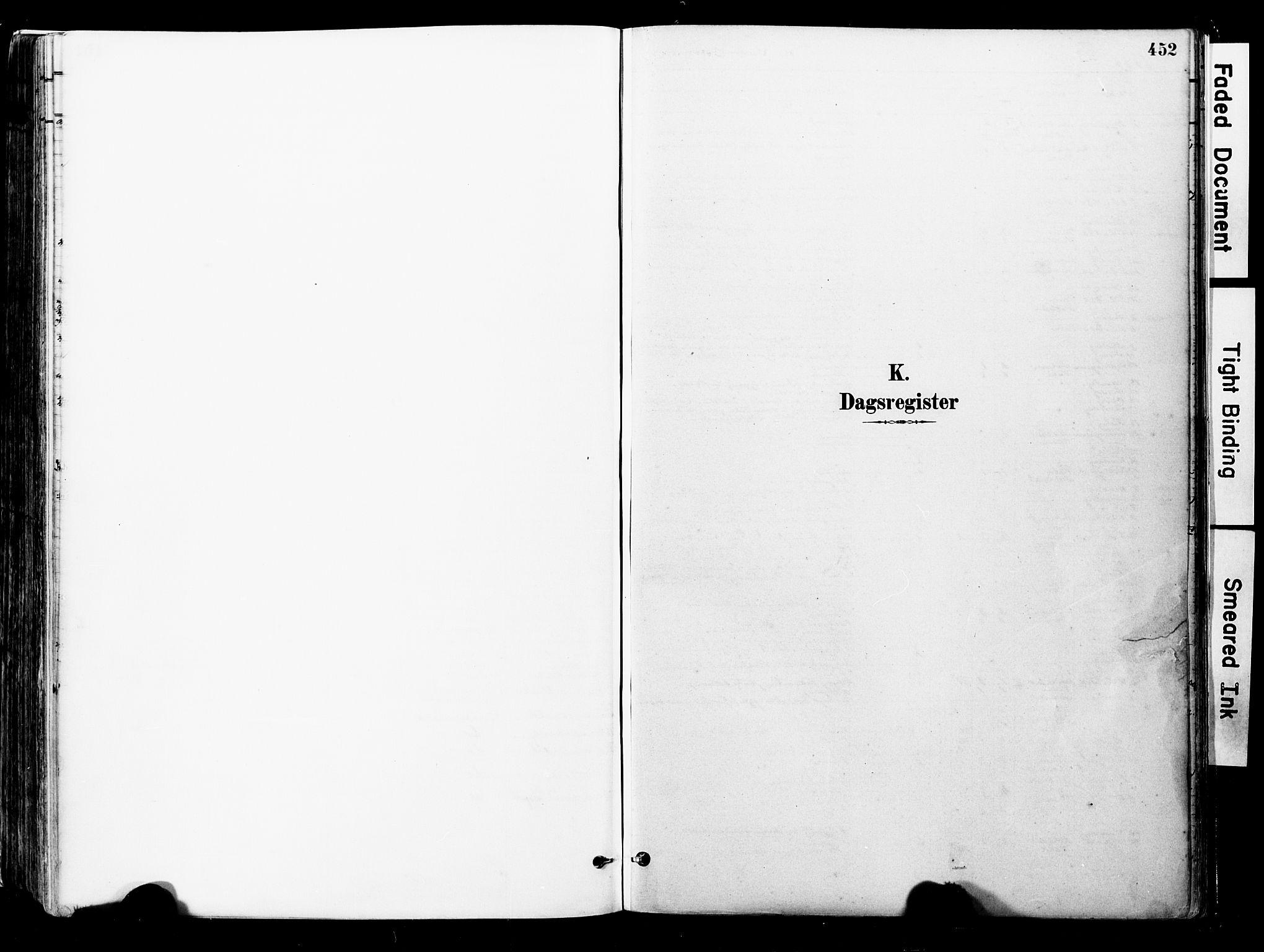 SAT, Ministerialprotokoller, klokkerbøker og fødselsregistre - Nord-Trøndelag, 723/L0244: Ministerialbok nr. 723A13, 1881-1899, s. 452