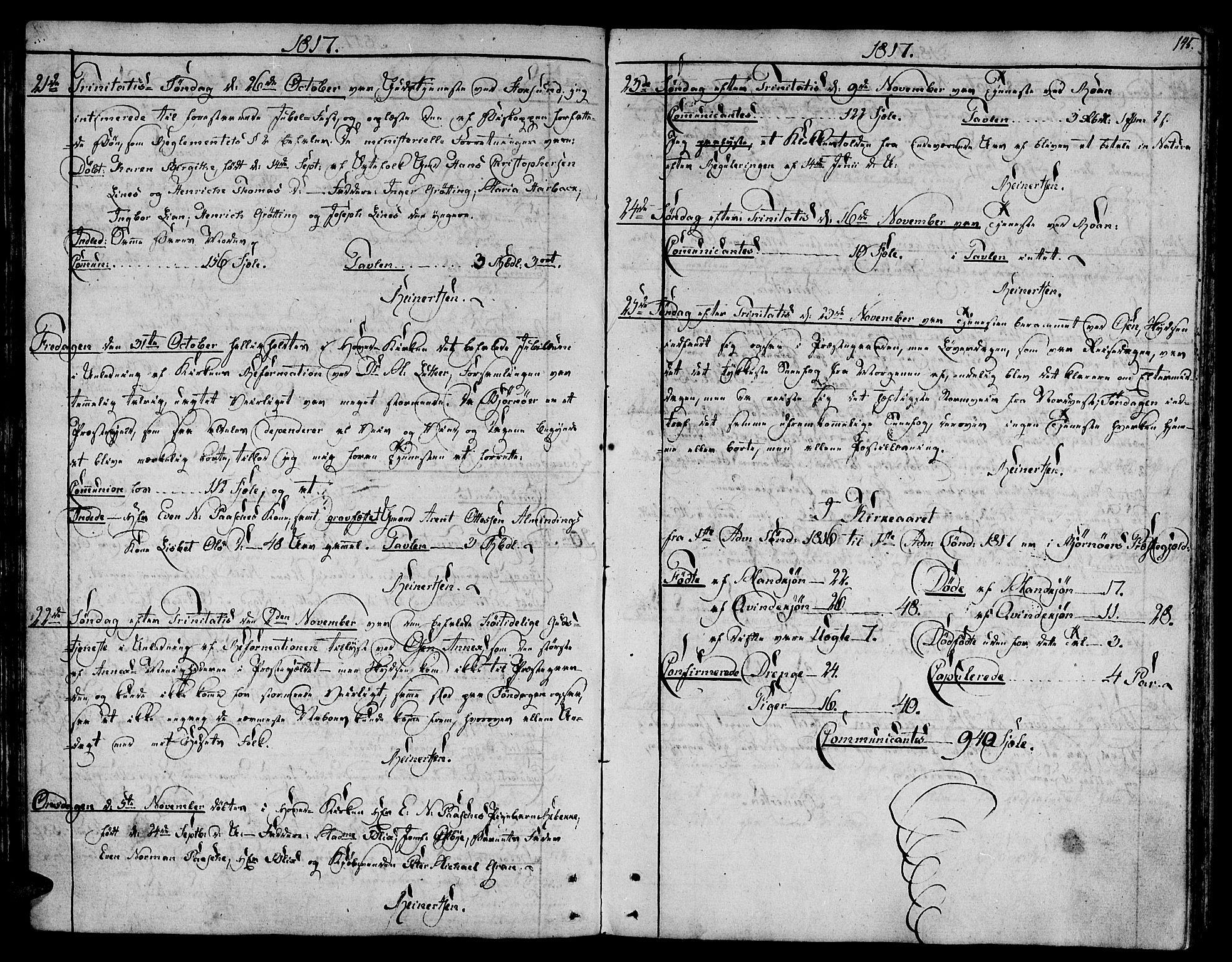 SAT, Ministerialprotokoller, klokkerbøker og fødselsregistre - Sør-Trøndelag, 657/L0701: Ministerialbok nr. 657A02, 1802-1831, s. 145
