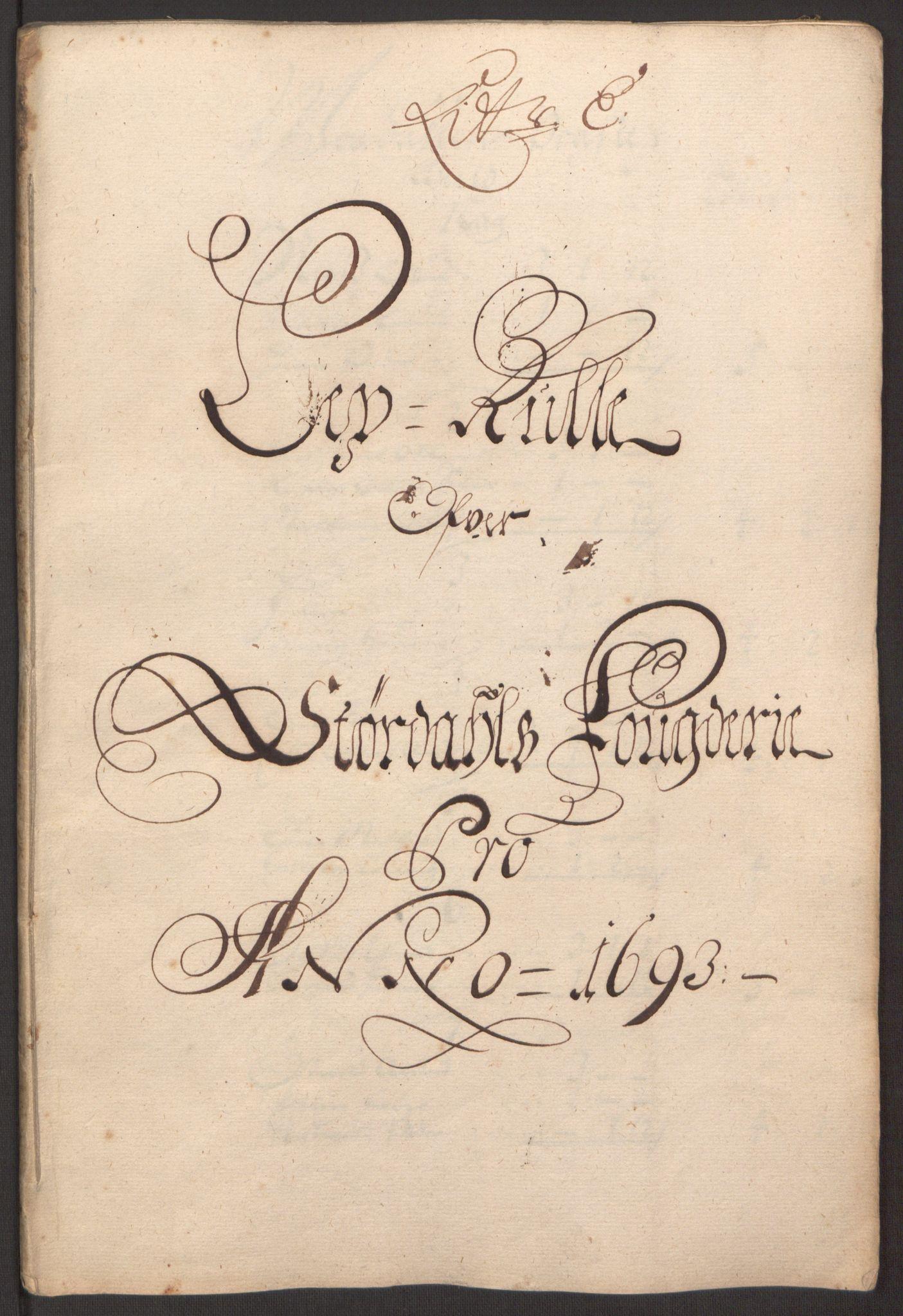 RA, Rentekammeret inntil 1814, Reviderte regnskaper, Fogderegnskap, R62/L4186: Fogderegnskap Stjørdal og Verdal, 1693-1694, s. 49