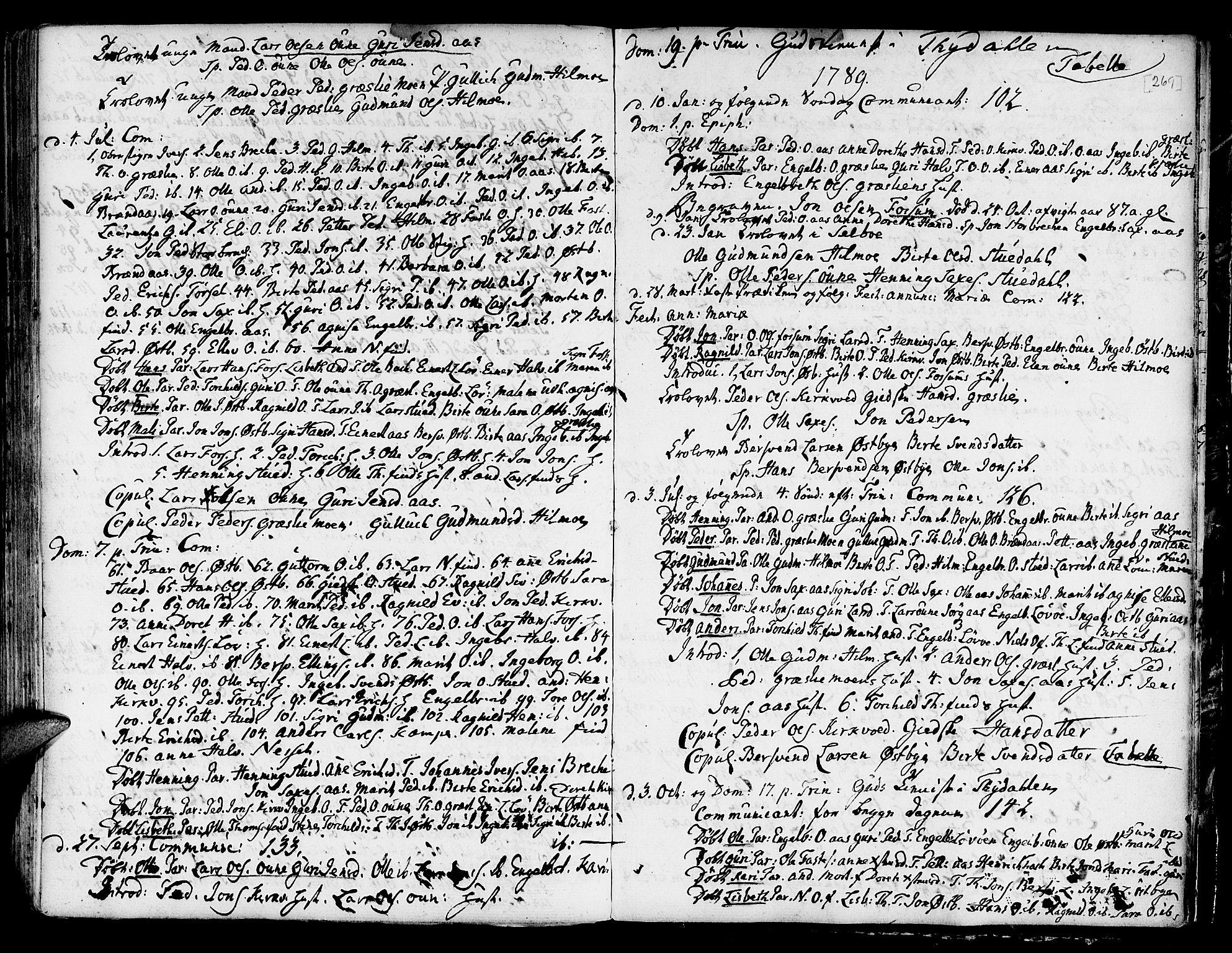 SAT, Ministerialprotokoller, klokkerbøker og fødselsregistre - Sør-Trøndelag, 695/L1139: Ministerialbok nr. 695A02 /2, 1776-1790, s. 269