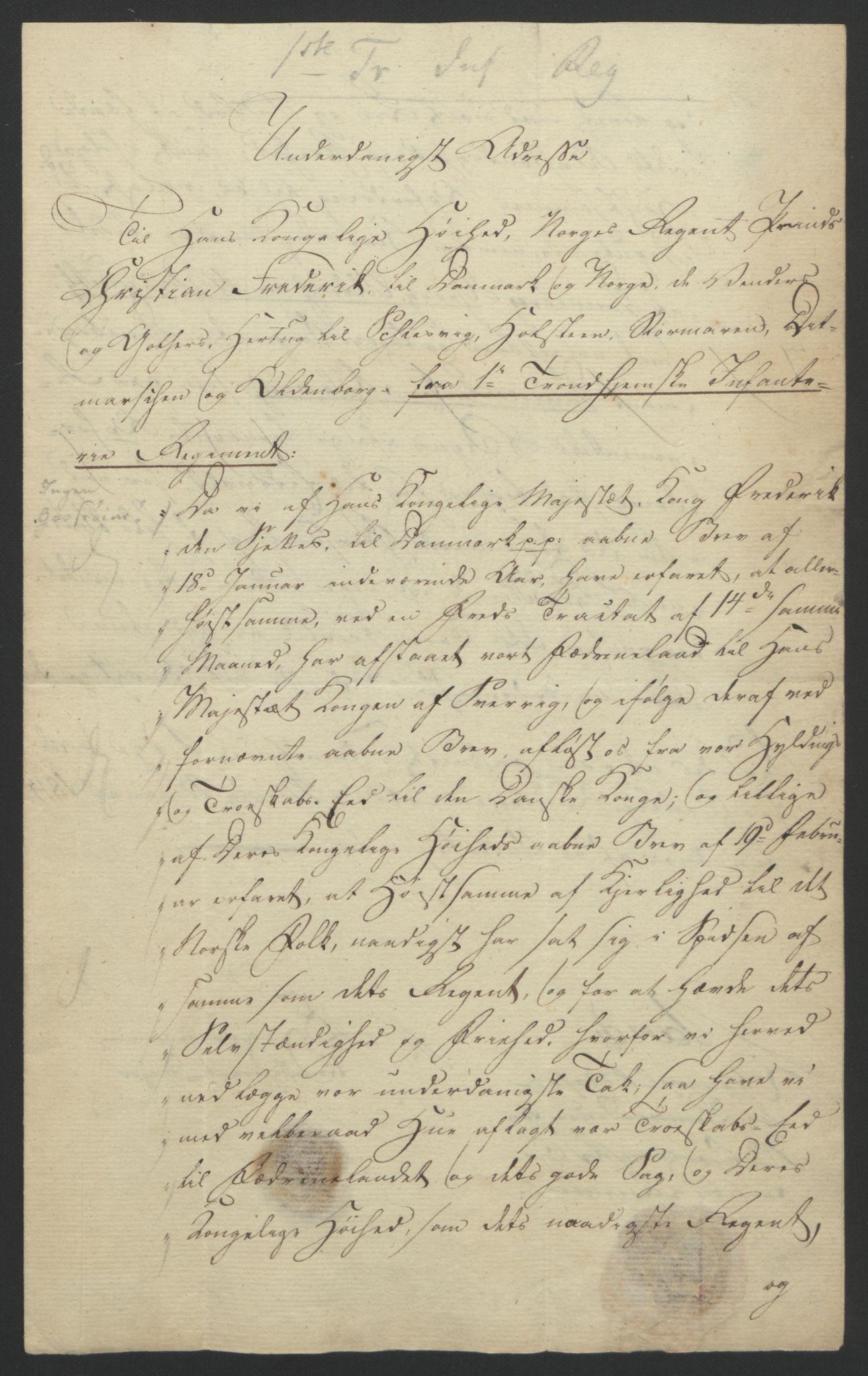 RA, Statsrådssekretariatet, D/Db/L0007: Fullmakter for Eidsvollsrepresentantene i 1814. , 1814, s. 118