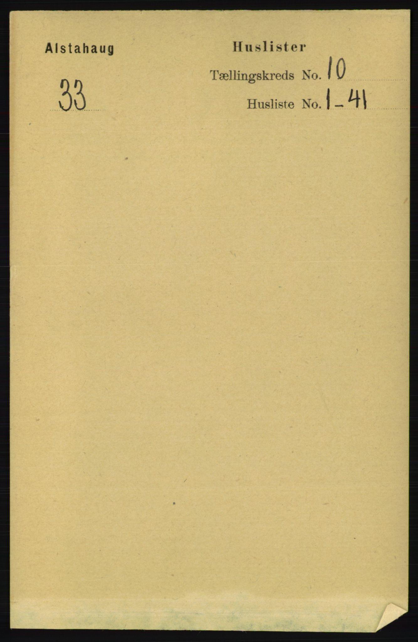 RA, Folketelling 1891 for 1820 Alstahaug herred, 1891, s. 3463