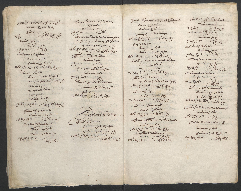 RA, Stattholderembetet 1572-1771, Ek/L0010: Jordebøker til utlikning av rosstjeneste 1624-1626:, 1624-1626, s. 86