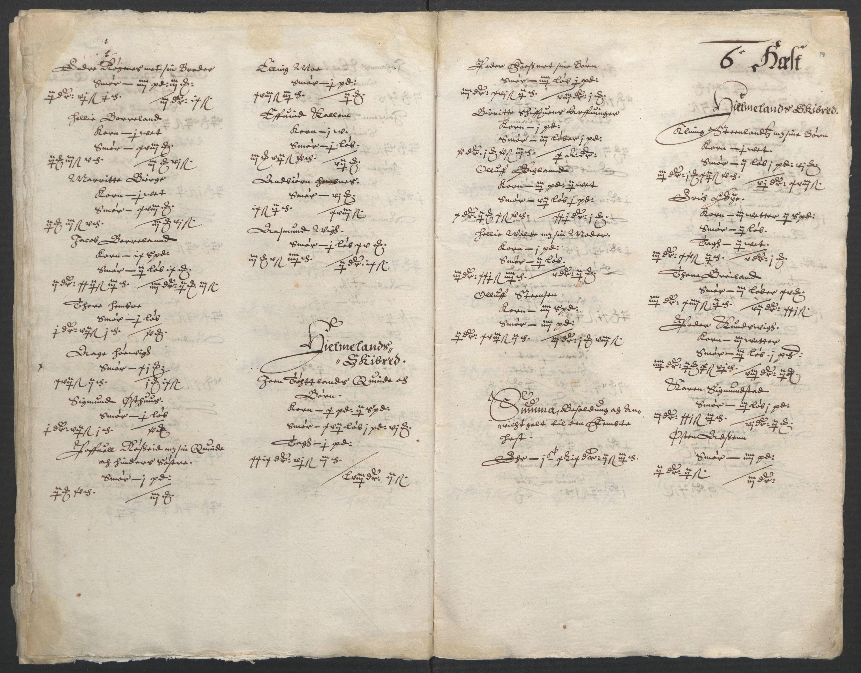 RA, Stattholderembetet 1572-1771, Ek/L0010: Jordebøker til utlikning av rosstjeneste 1624-1626:, 1624-1626, s. 84