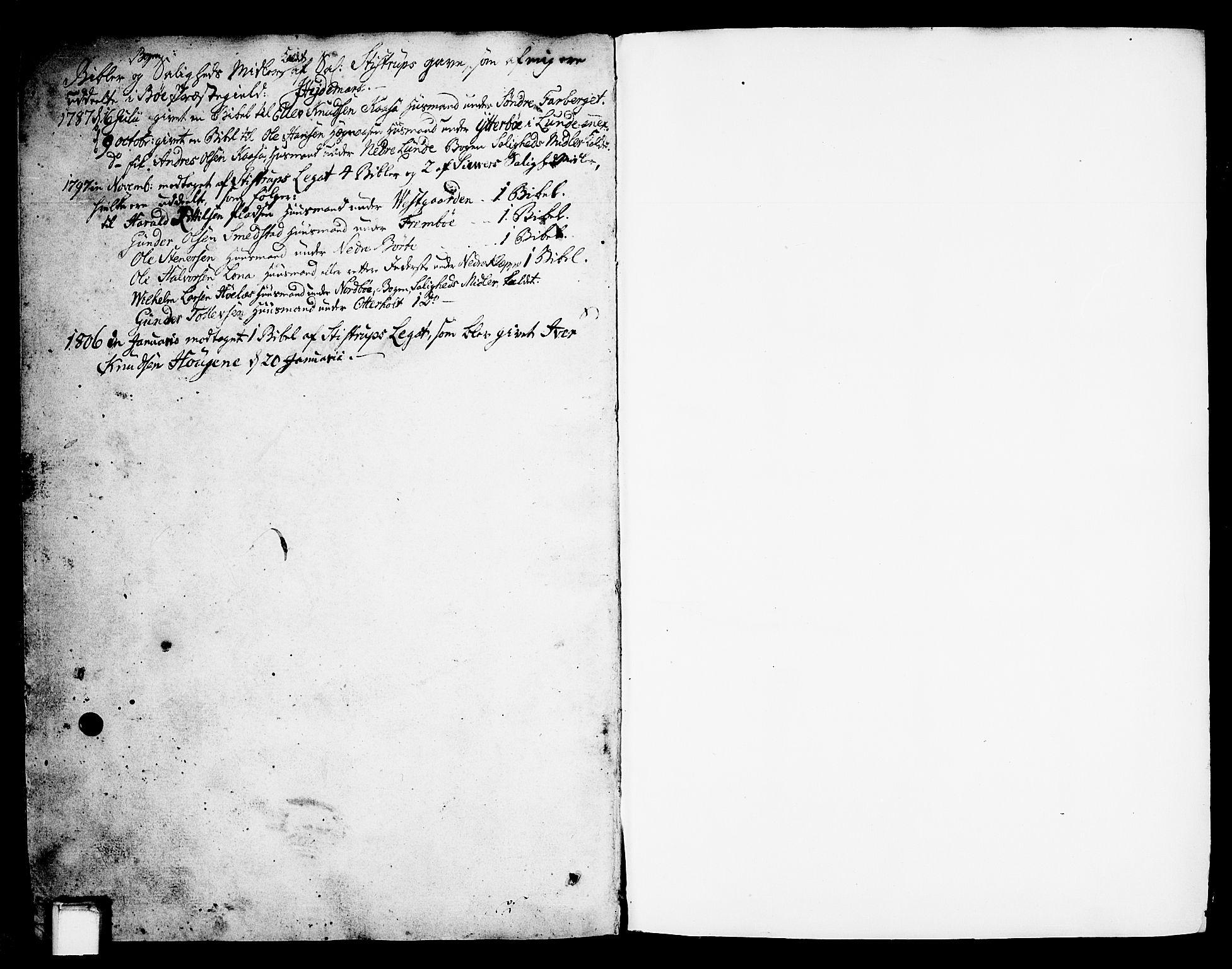 SAKO, Bø kirkebøker, F/Fa/L0005: Ministerialbok nr. 5, 1785-1815, s. 319-320