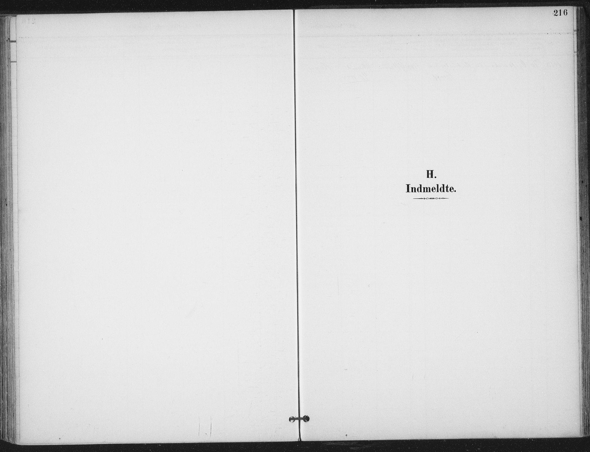 SAT, Ministerialprotokoller, klokkerbøker og fødselsregistre - Nord-Trøndelag, 703/L0031: Ministerialbok nr. 703A04, 1893-1914, s. 216