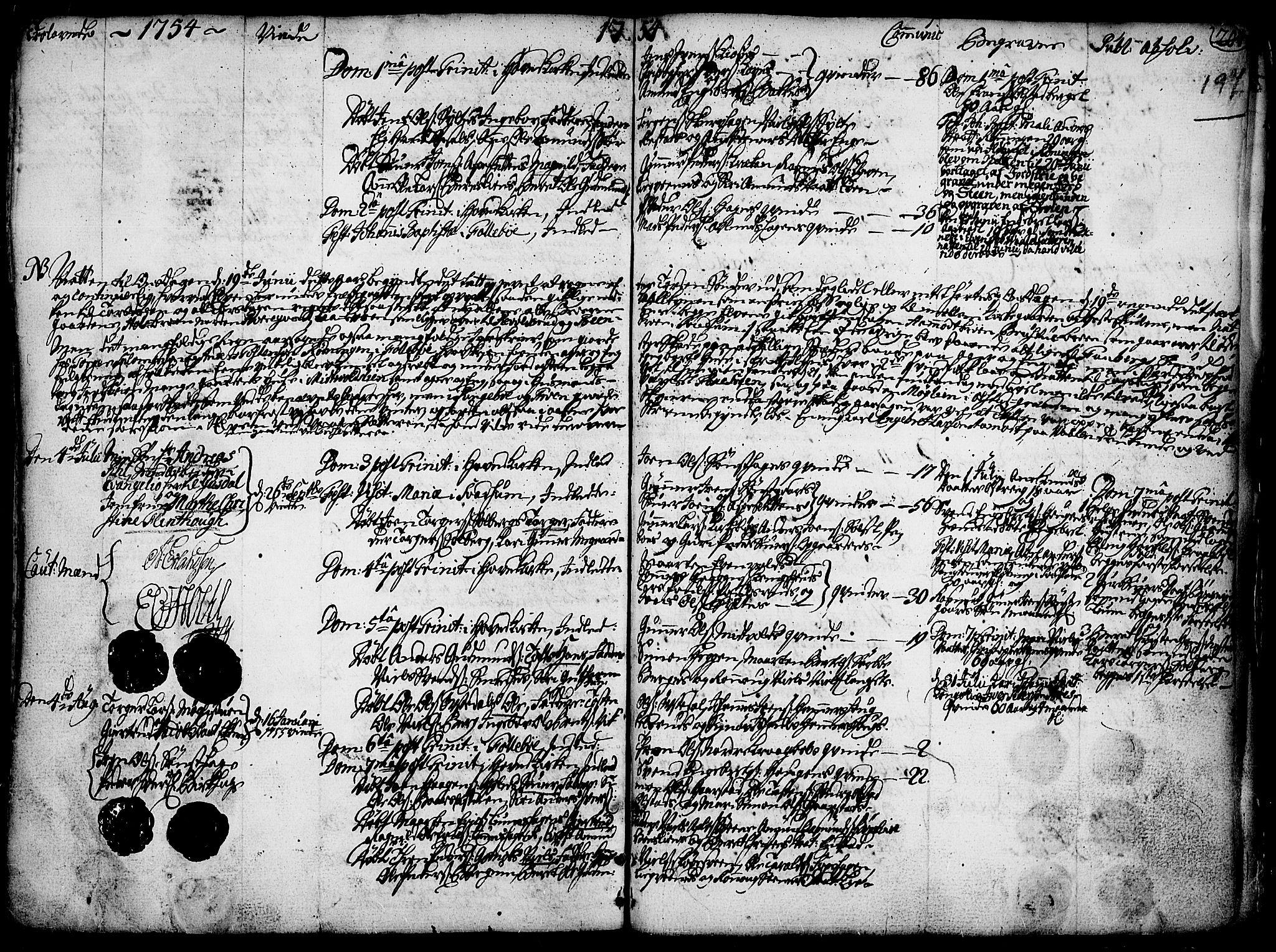 SAH, Gausdal prestekontor, Ministerialbok nr. 2, 1729-1757, s. 197