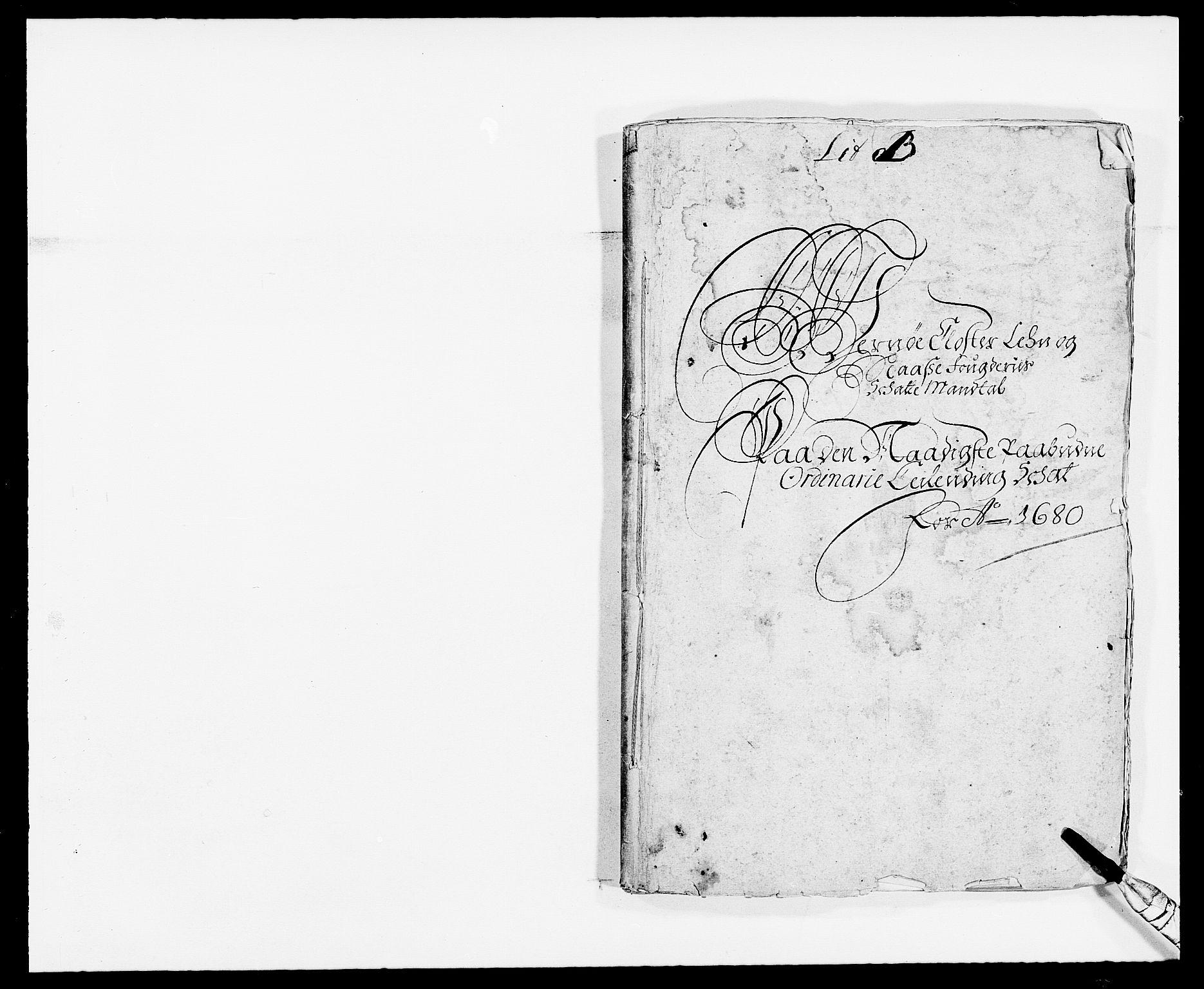 RA, Rentekammeret inntil 1814, Reviderte regnskaper, Fogderegnskap, R02/L0101: Fogderegnskap Moss og Verne kloster, 1680, s. 9