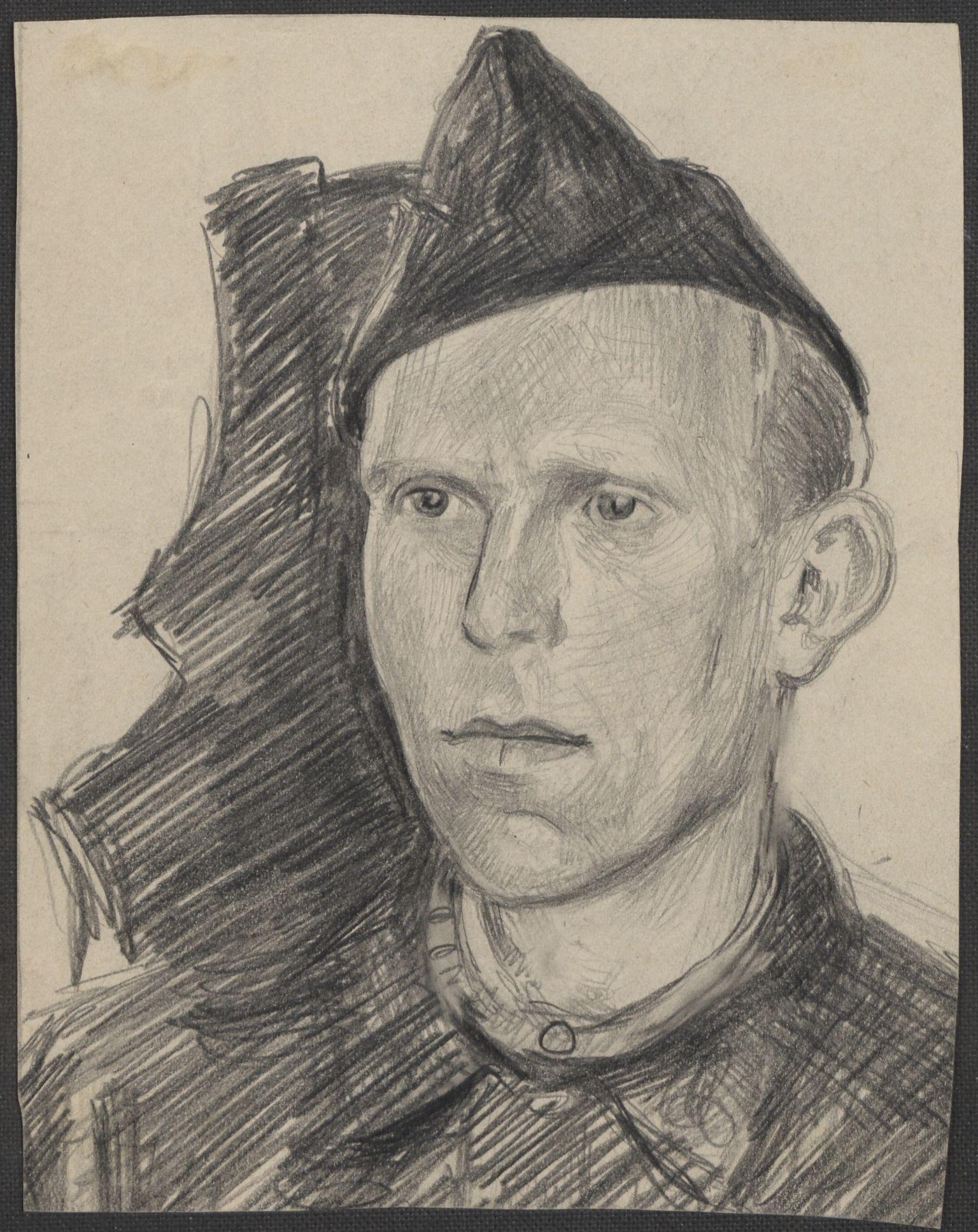 RA, Grøgaard, Joachim, F/L0002: Tegninger og tekster, 1942-1945, s. 55