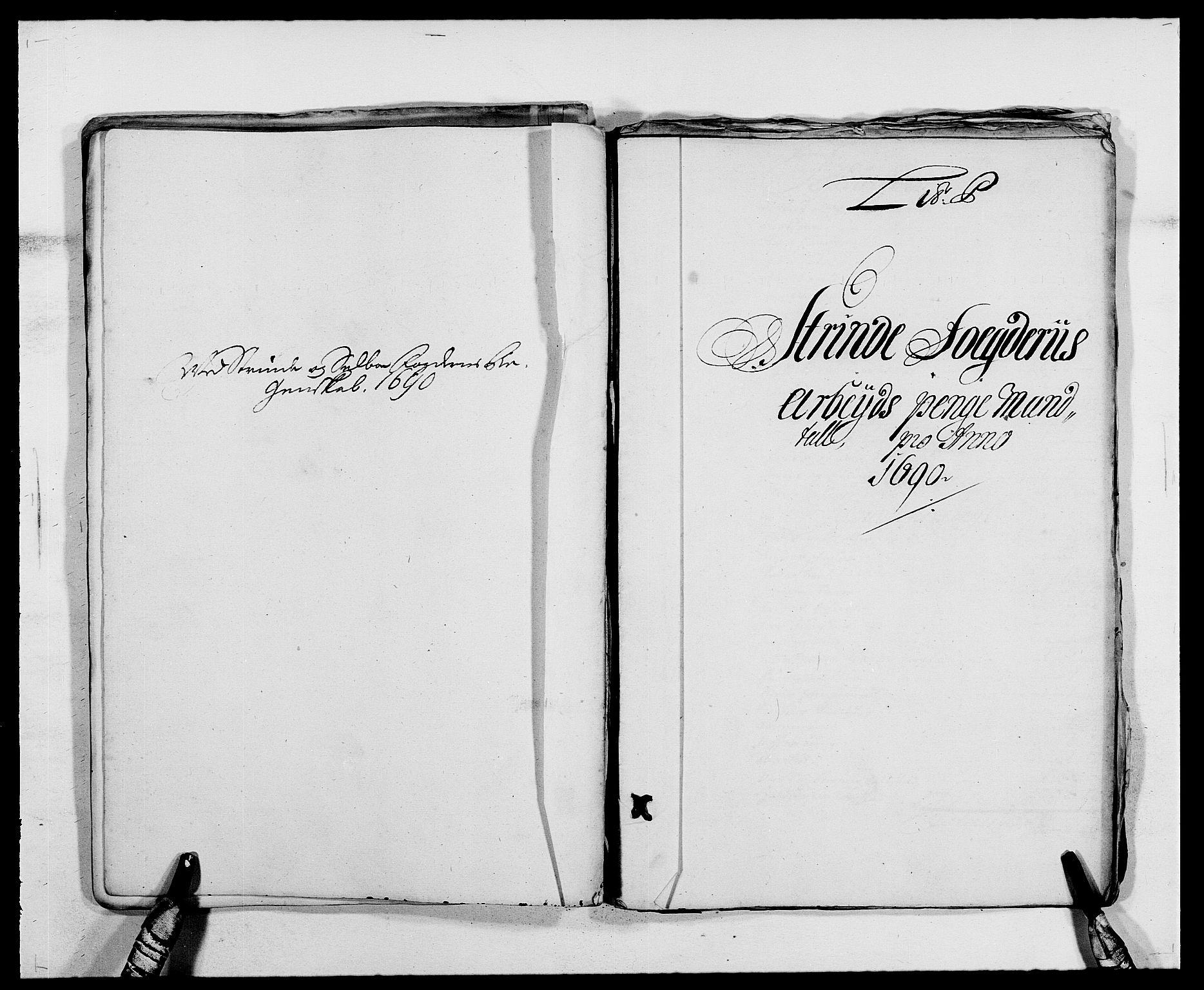 RA, Rentekammeret inntil 1814, Reviderte regnskaper, Fogderegnskap, R61/L4102: Fogderegnskap Strinda og Selbu, 1689-1690, s. 260