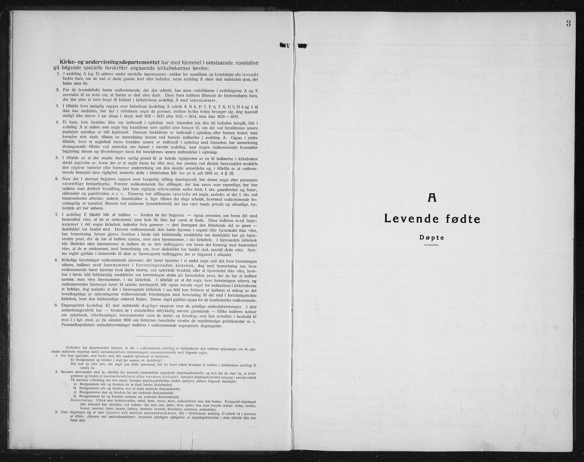SAT, Ministerialprotokoller, klokkerbøker og fødselsregistre - Sør-Trøndelag, 655/L0689: Klokkerbok nr. 655C05, 1922-1936, s. 3
