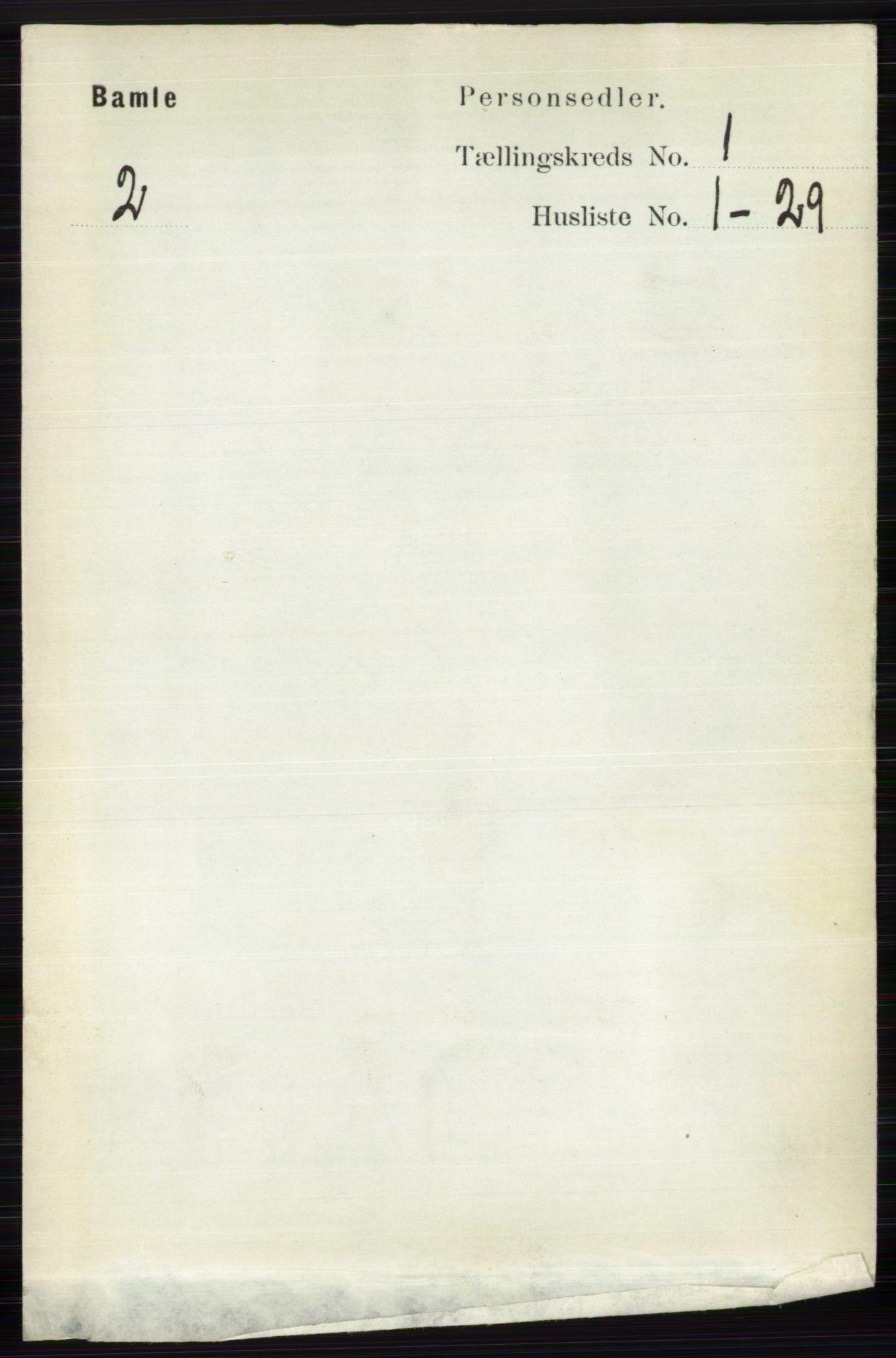 RA, Folketelling 1891 for 0814 Bamble herred, 1891, s. 140