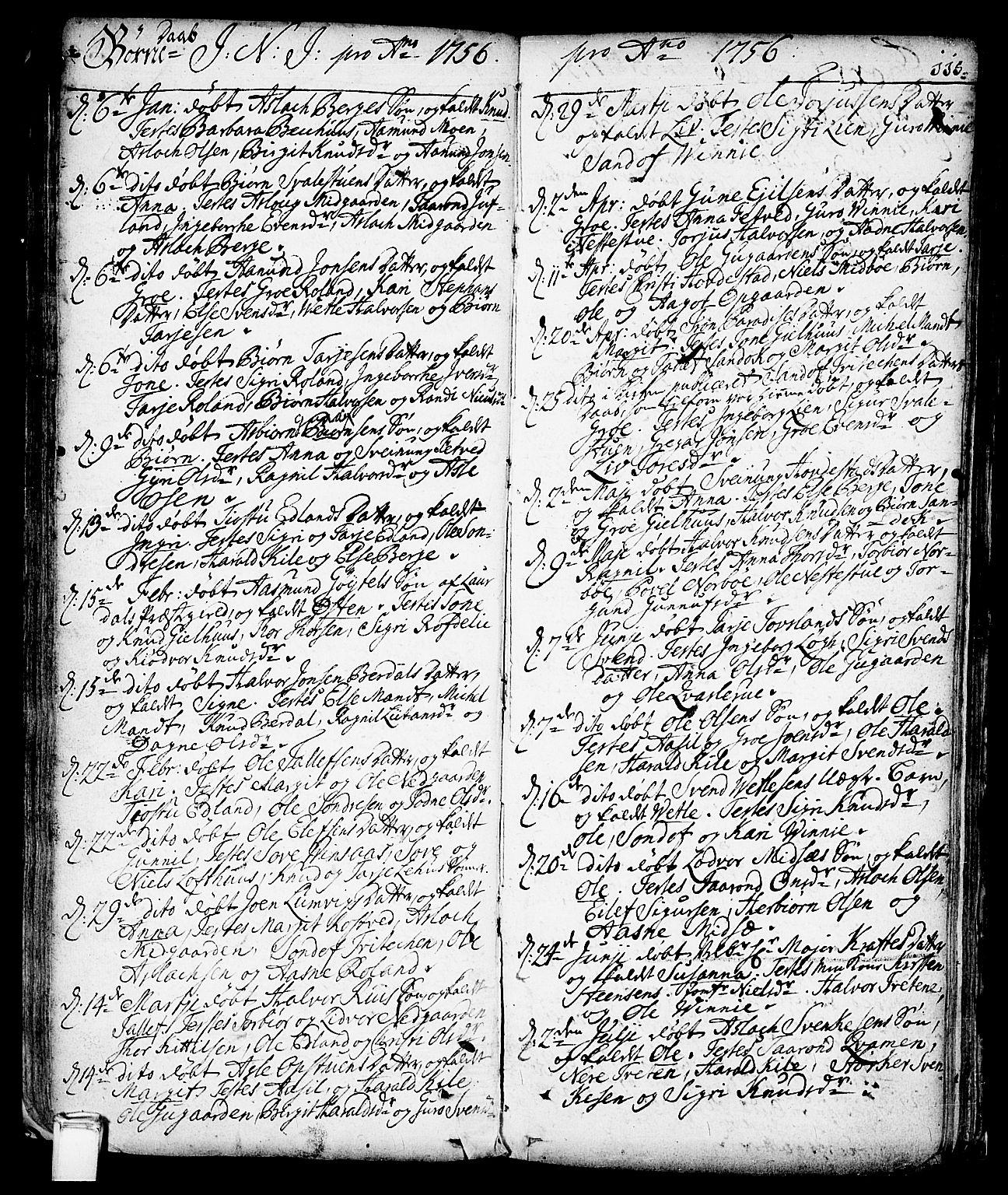 SAKO, Vinje kirkebøker, F/Fa/L0001: Ministerialbok nr. I 1, 1717-1766, s. 115