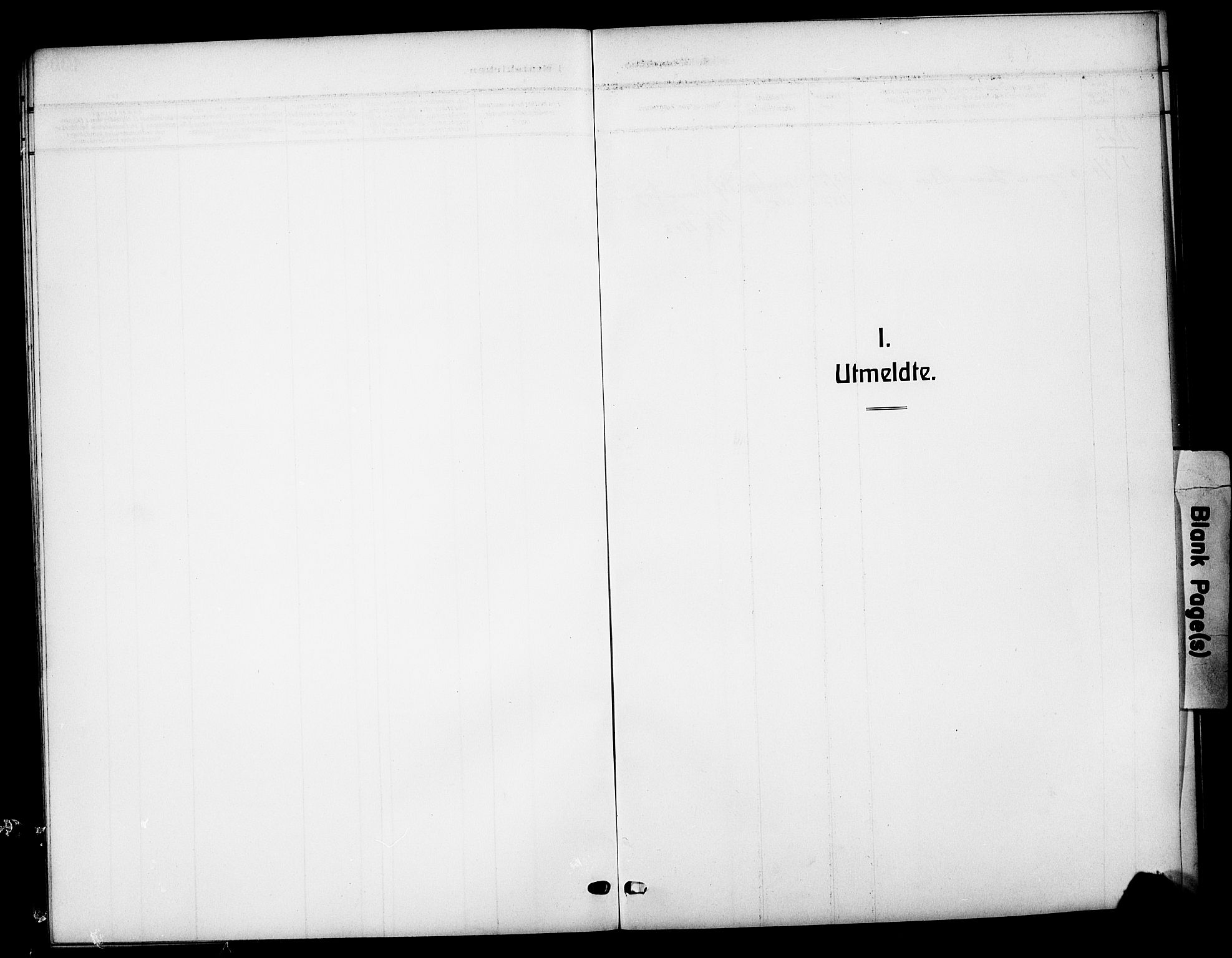 SAH, Vestre Slidre prestekontor, Klokkerbok nr. 7, 1909-1930