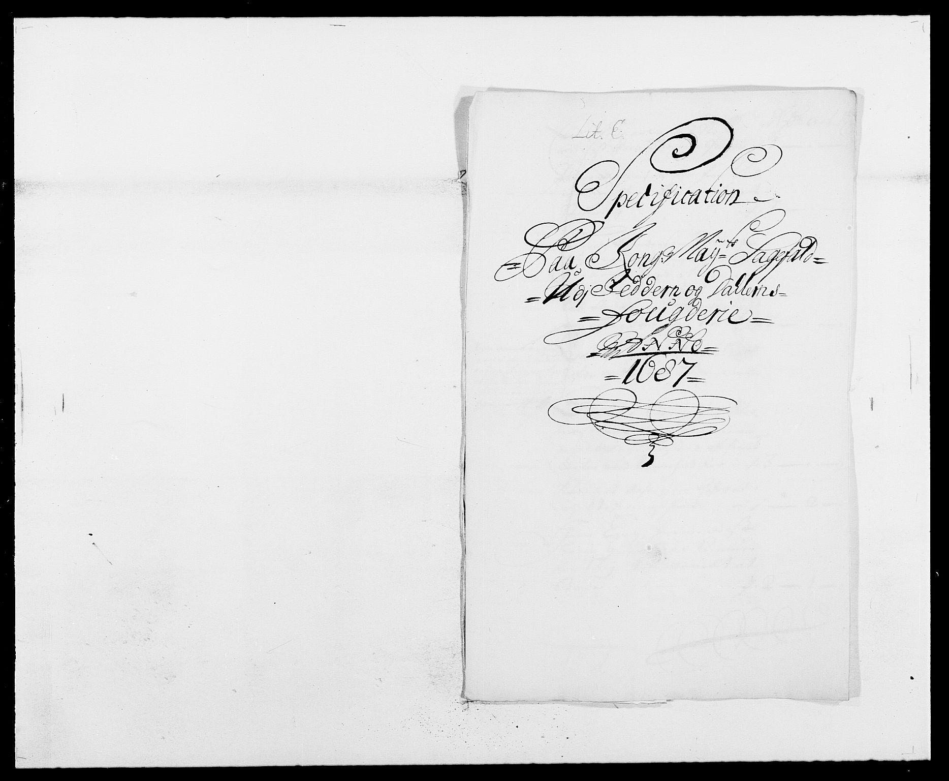 RA, Rentekammeret inntil 1814, Reviderte regnskaper, Fogderegnskap, R46/L2726: Fogderegnskap Jæren og Dalane, 1686-1689, s. 197