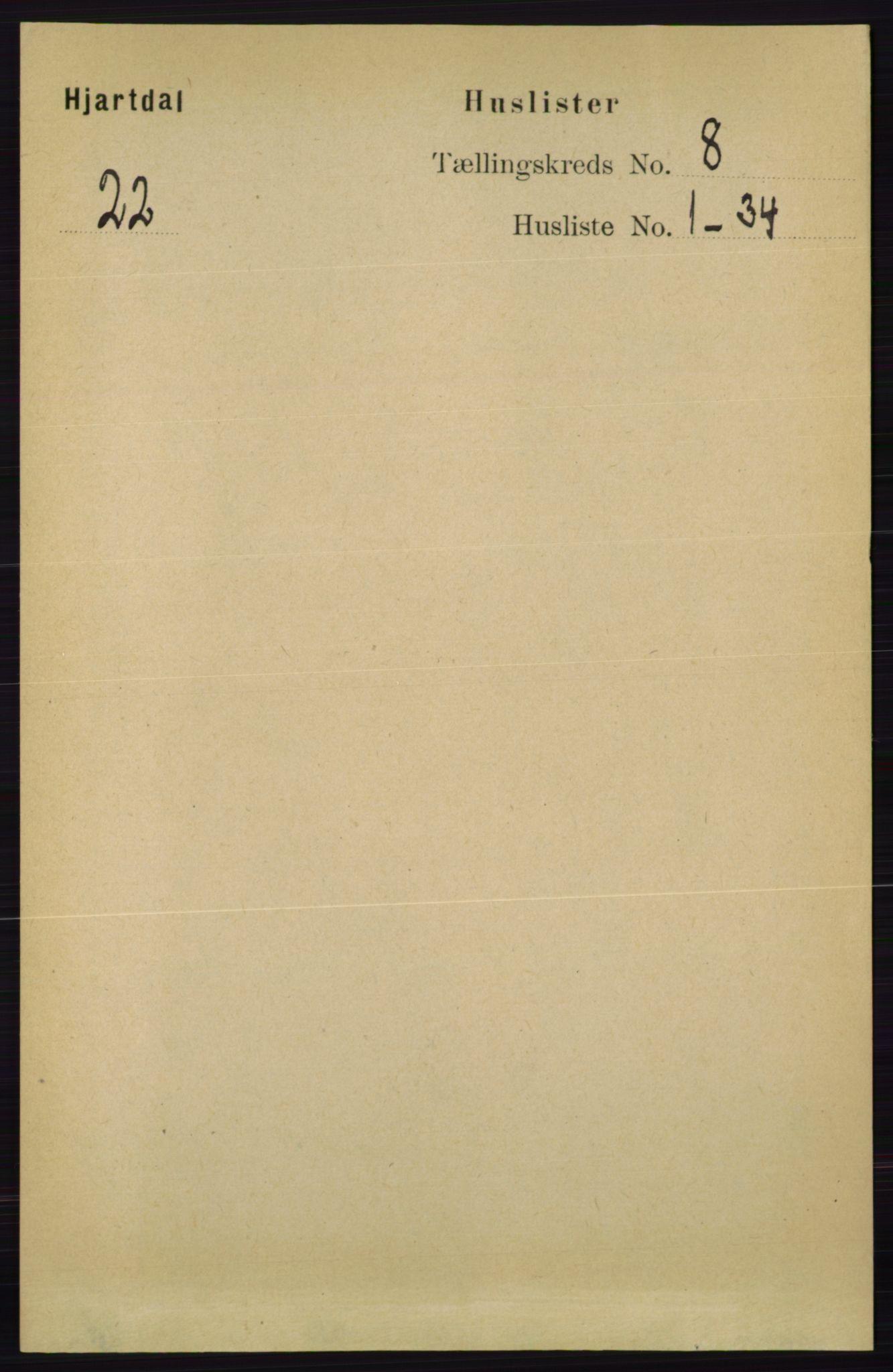 RA, Folketelling 1891 for 0827 Hjartdal herred, 1891, s. 2770
