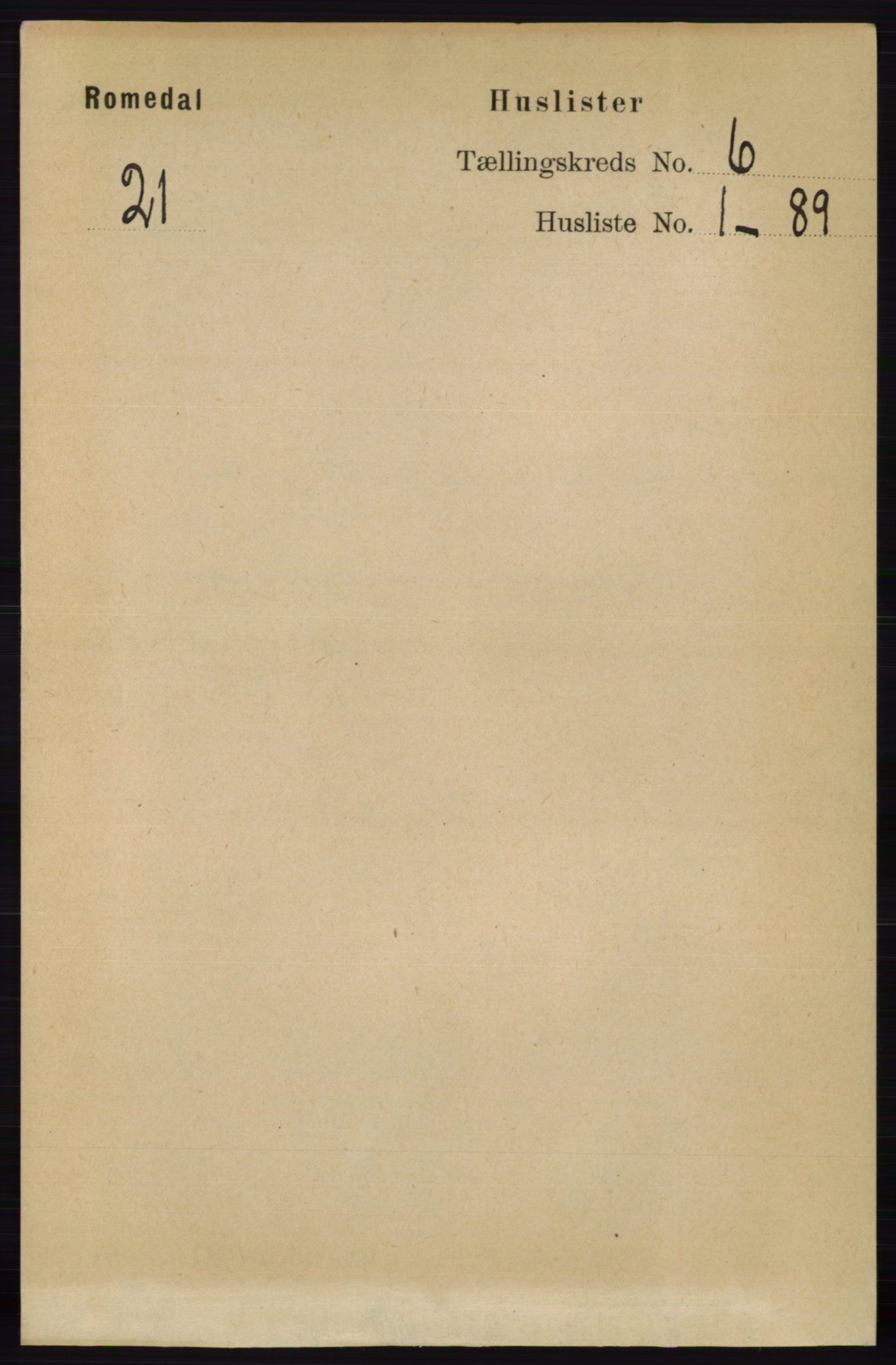 RA, Folketelling 1891 for 0416 Romedal herred, 1891, s. 2859