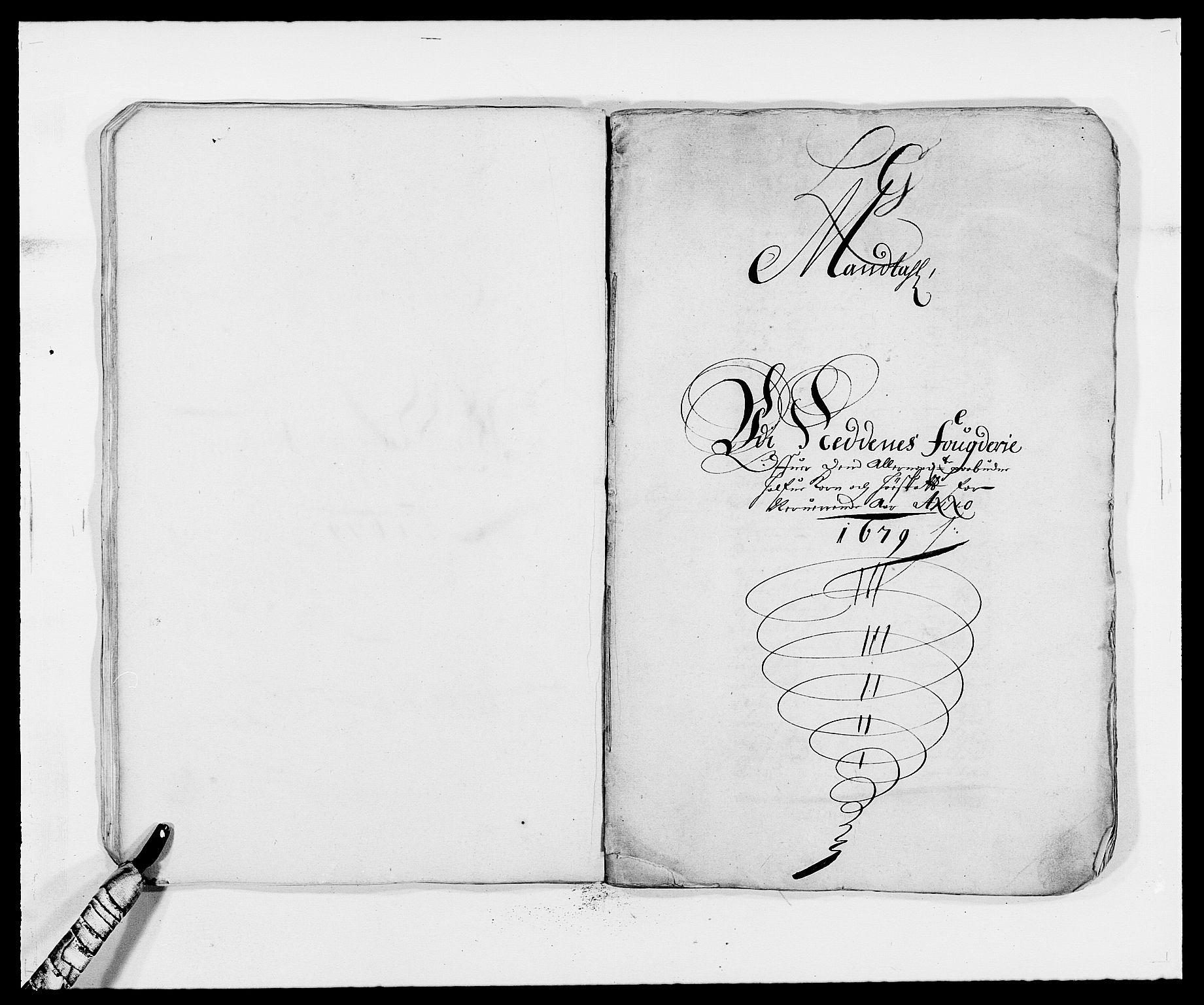 RA, Rentekammeret inntil 1814, Reviderte regnskaper, Fogderegnskap, R39/L2303: Fogderegnskap Nedenes, 1679, s. 117