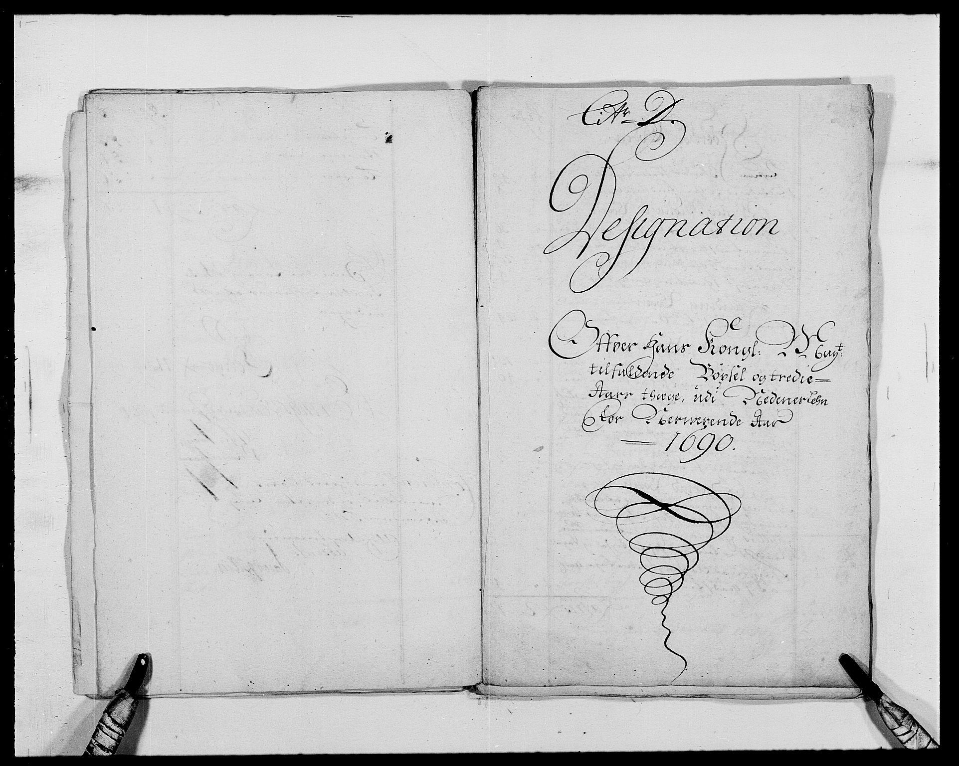 RA, Rentekammeret inntil 1814, Reviderte regnskaper, Fogderegnskap, R39/L2310: Fogderegnskap Nedenes, 1690-1692, s. 116