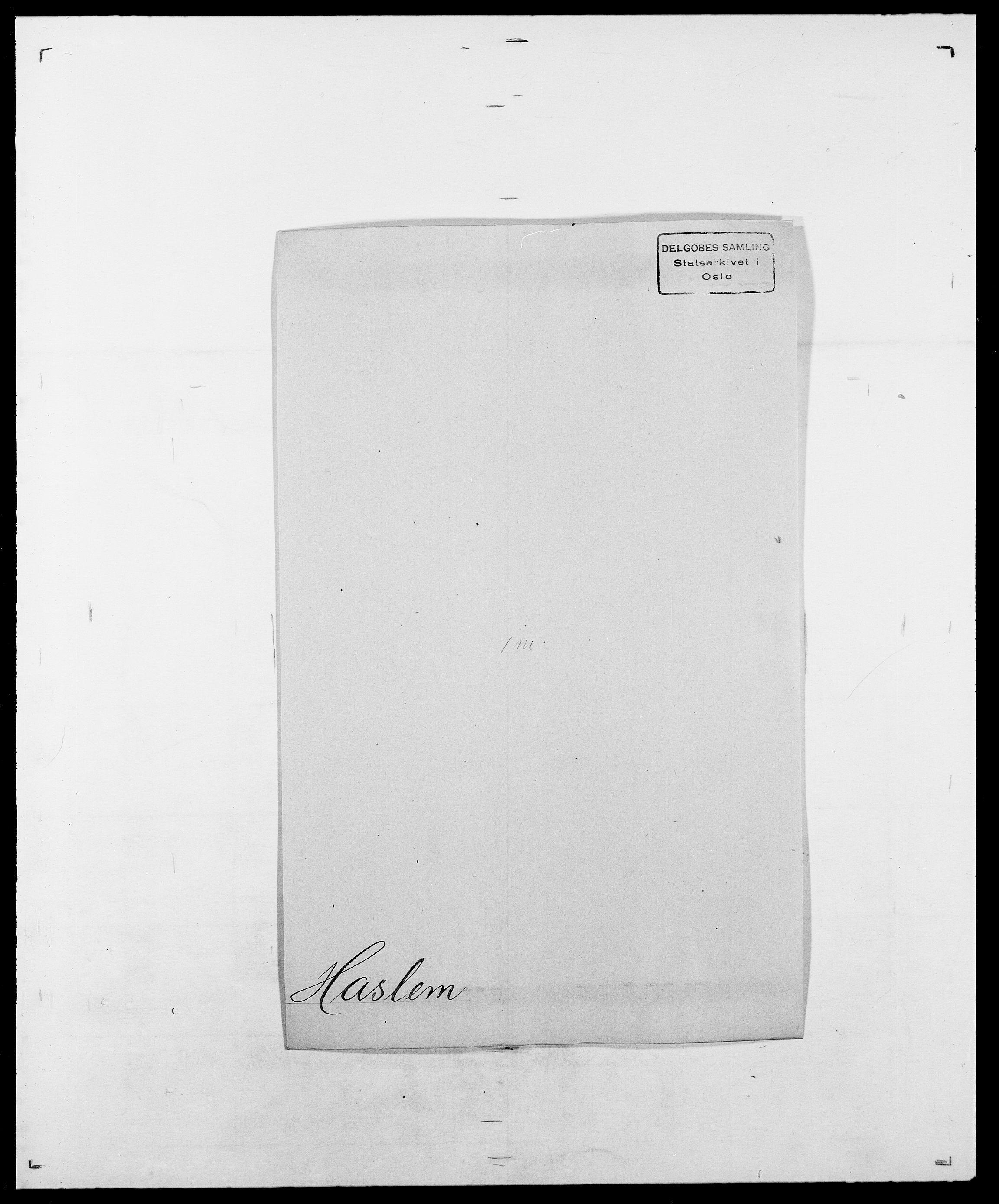SAO, Delgobe, Charles Antoine - samling, D/Da/L0016: Hamborg - Hektoen, s. 482