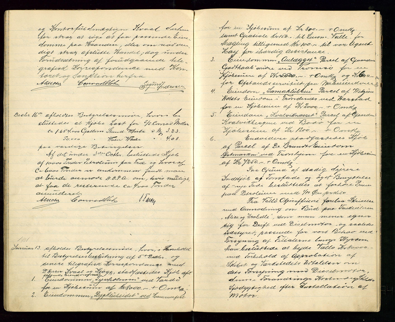 SAST, PA 1533 - A/S Vestlandske Petroleumscompani, A/Aa/L0001: Generalforsamlinger og styreprotokoller, 1907-1915, s. 38
