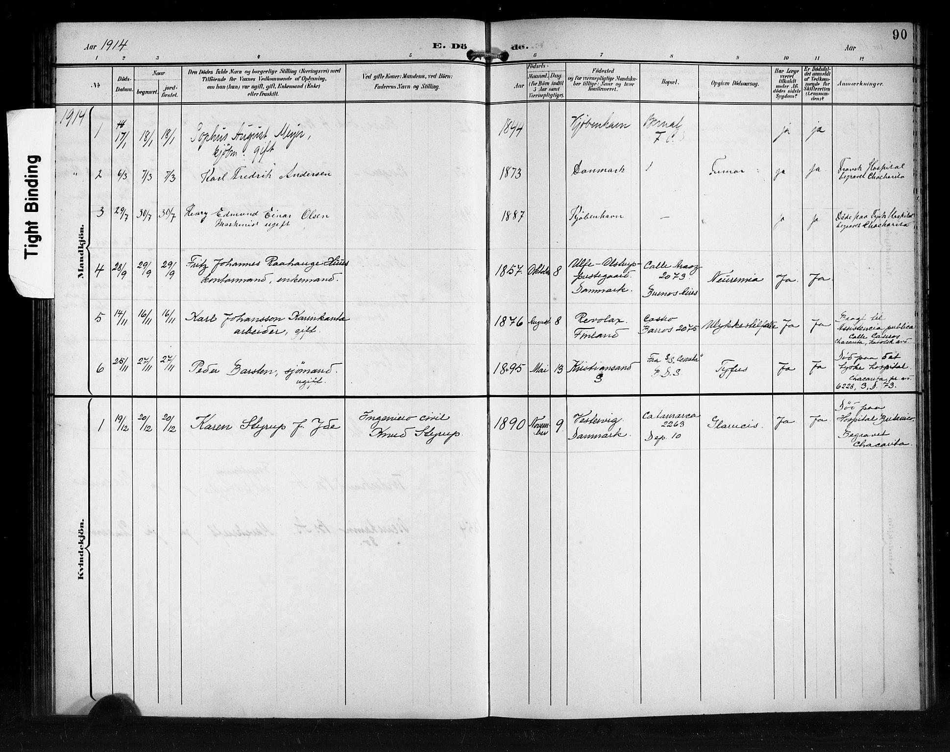 SAB, Den Norske Sjømannsmisjon i utlandet*, Ministerialbok nr. A 2, 1899-1919, s. 90