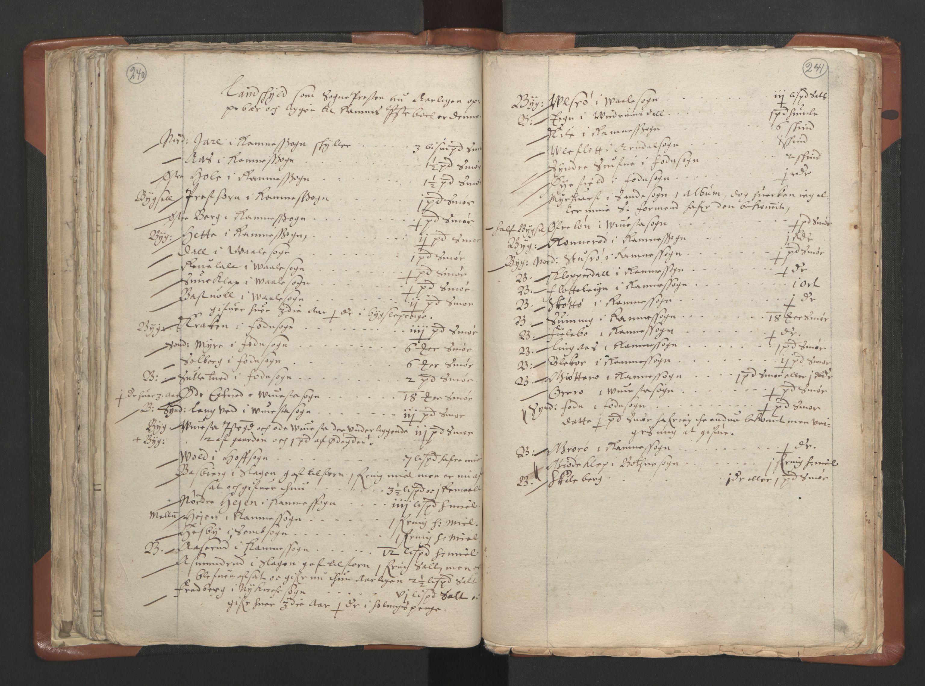 RA, Sogneprestenes manntall 1664-1666, nr. 10: Tønsberg prosti, 1664-1666, s. 240-241